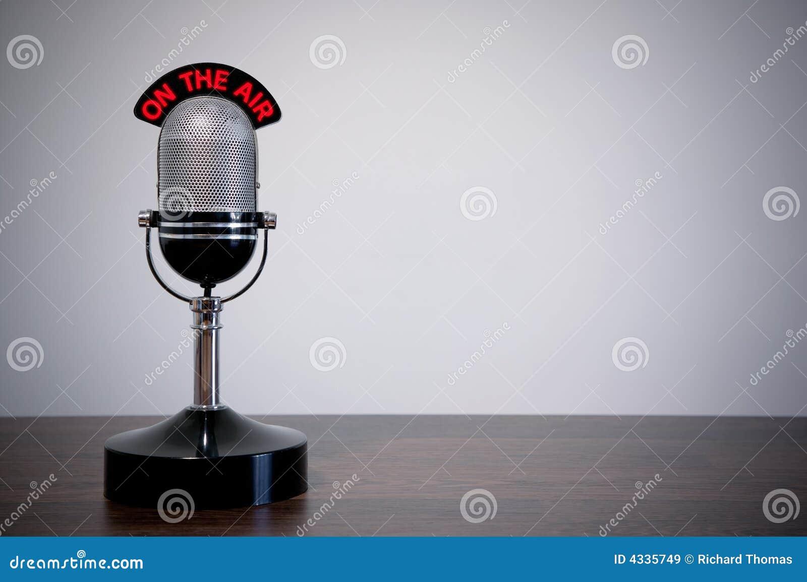 Retro Desk Microphone