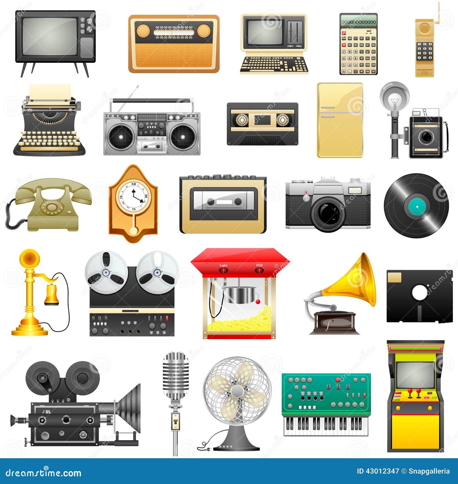 Retro elektronik