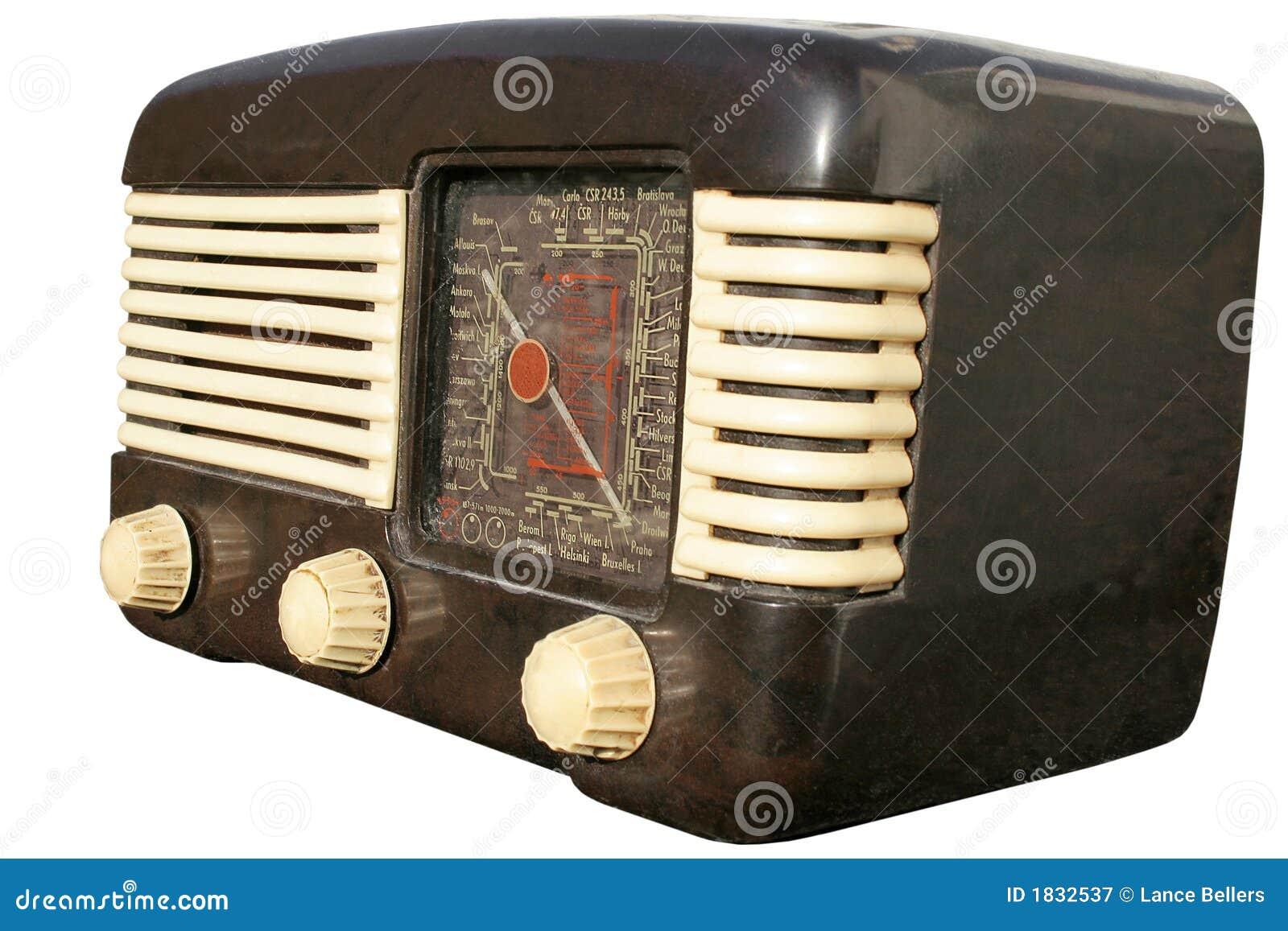 Retro europeisk radio