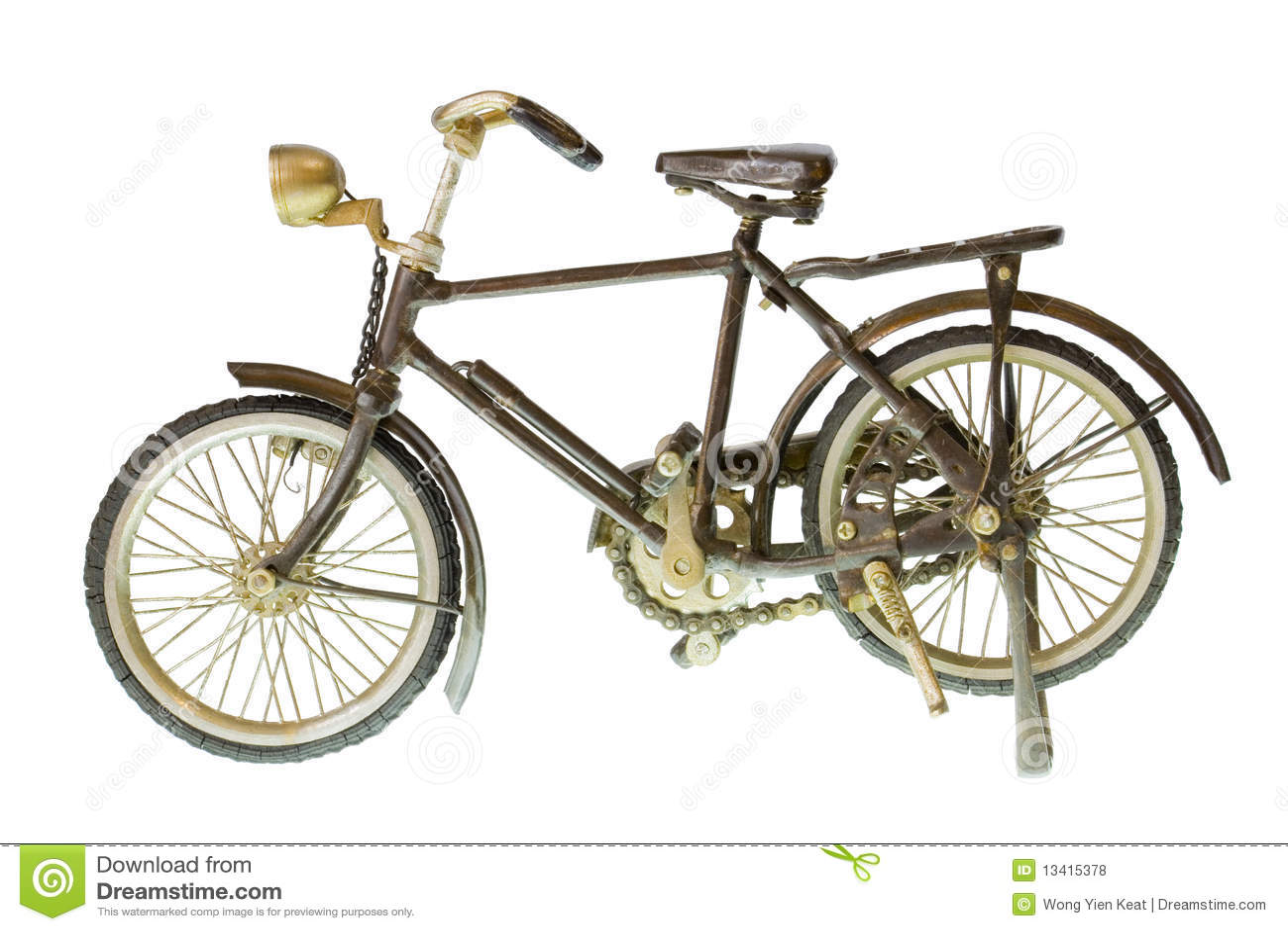 retro fahrrad lizenzfreie stockfotos bild 13415378. Black Bedroom Furniture Sets. Home Design Ideas