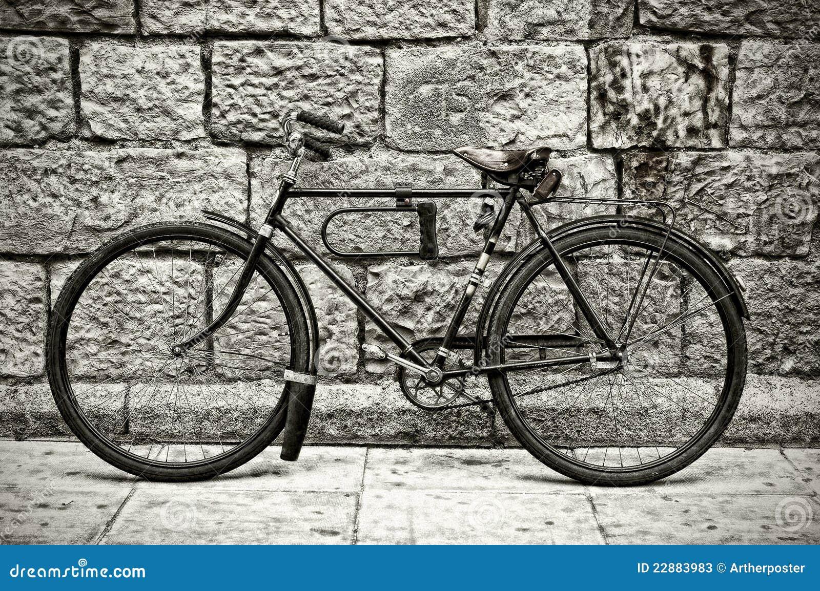 retro fahrrad stockfotos bild 22883983. Black Bedroom Furniture Sets. Home Design Ideas