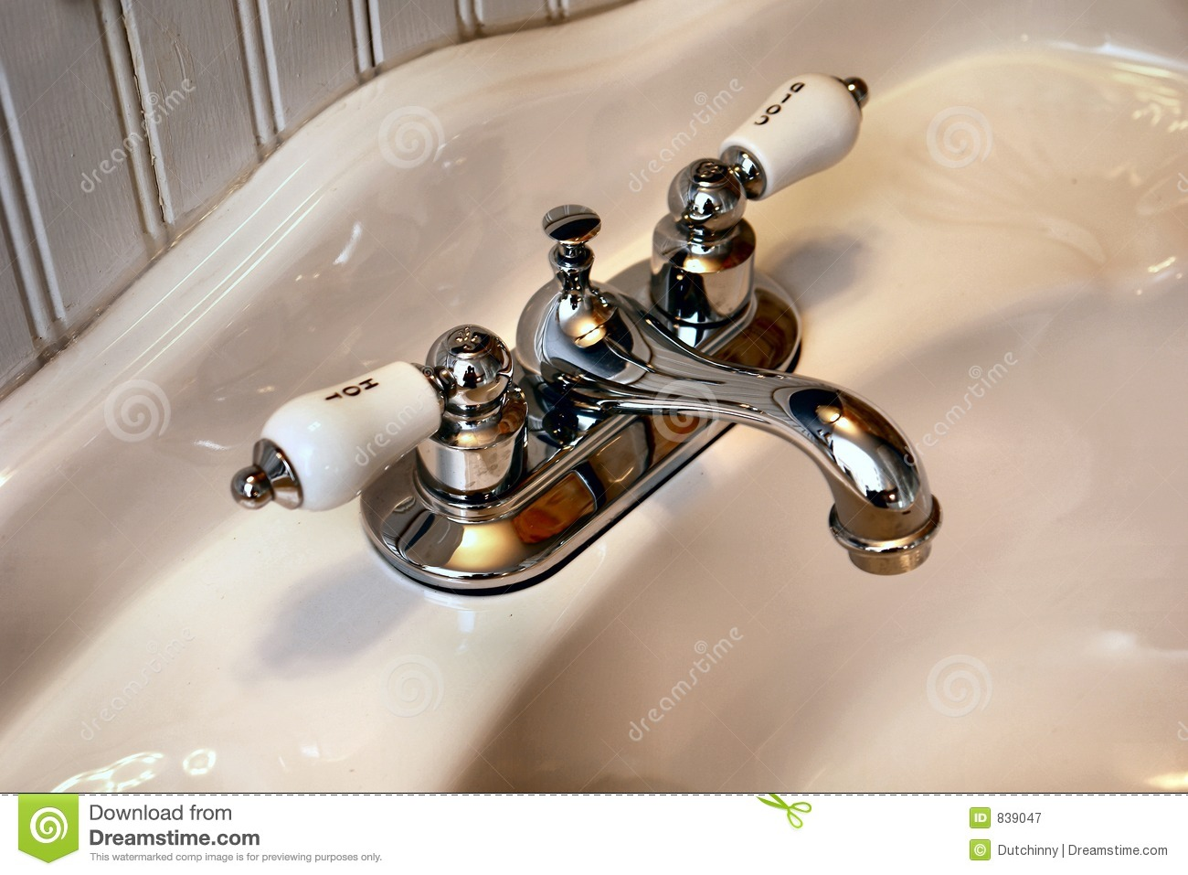 Retro faucets stock image. Image of relax, shower, water - 839047