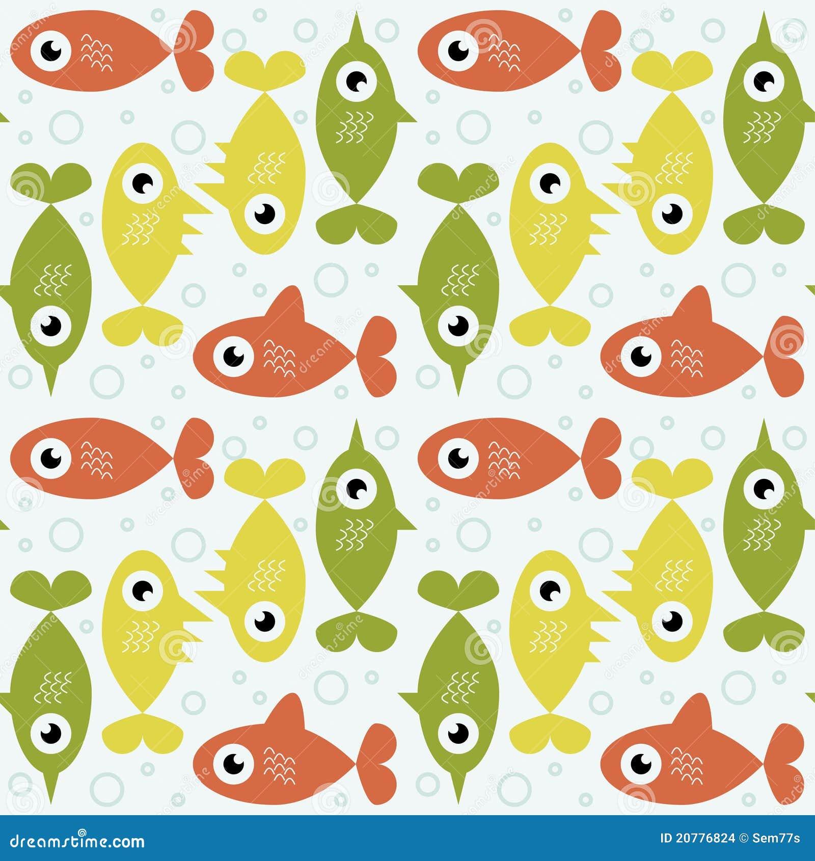 Retro Fish Background Stock Images - Image: 20776824