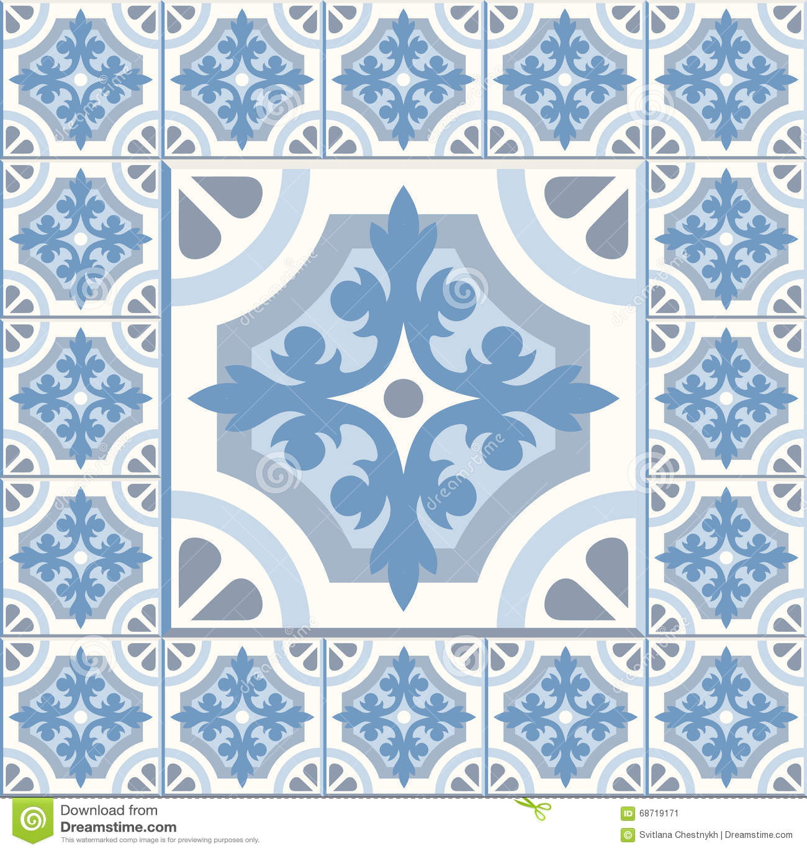 Retro Floor Tiles patern stock vector. Illustration of background ...