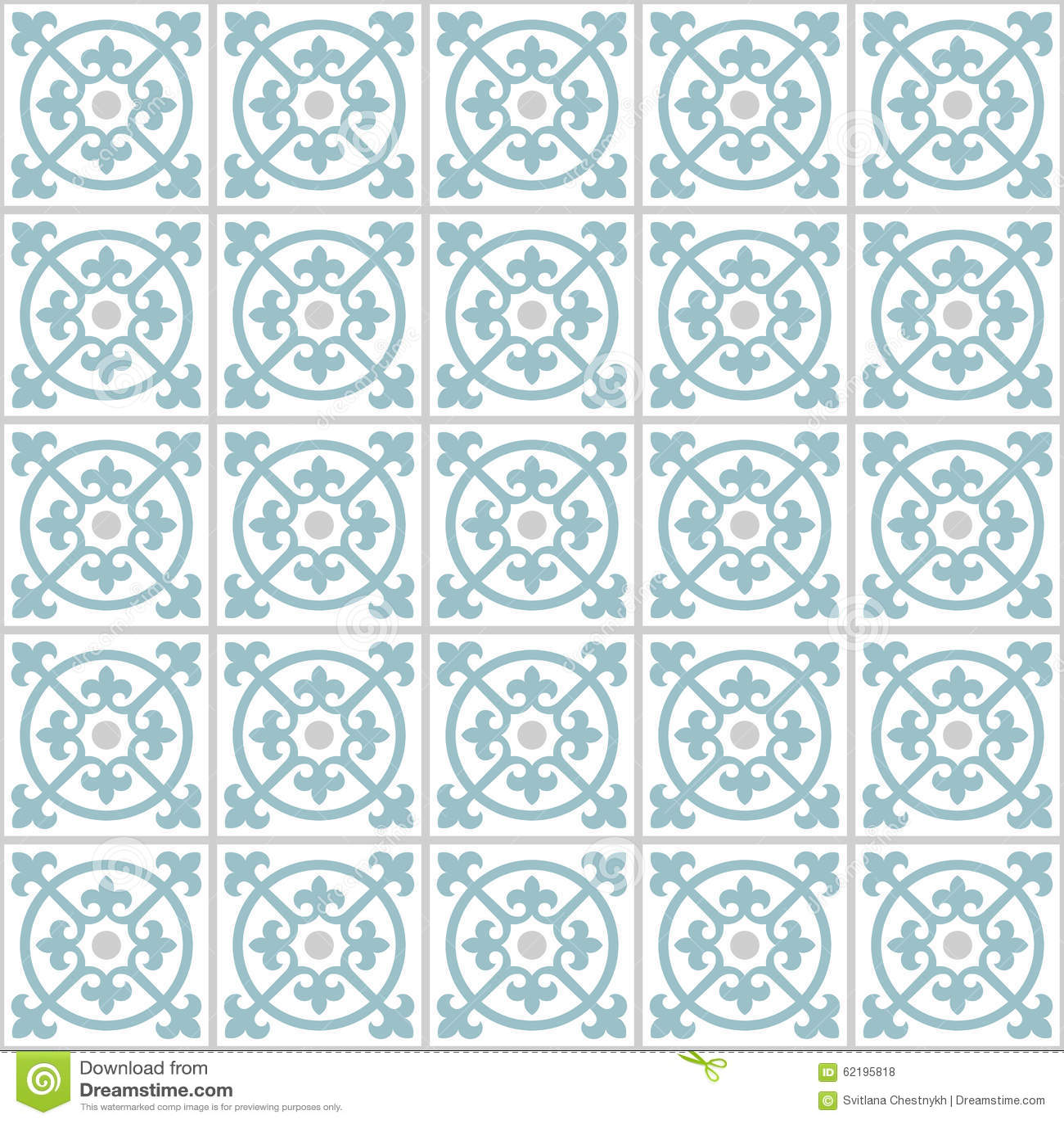 Retro Floor Tiles pattern stock vector. Illustration of floor - 62195818