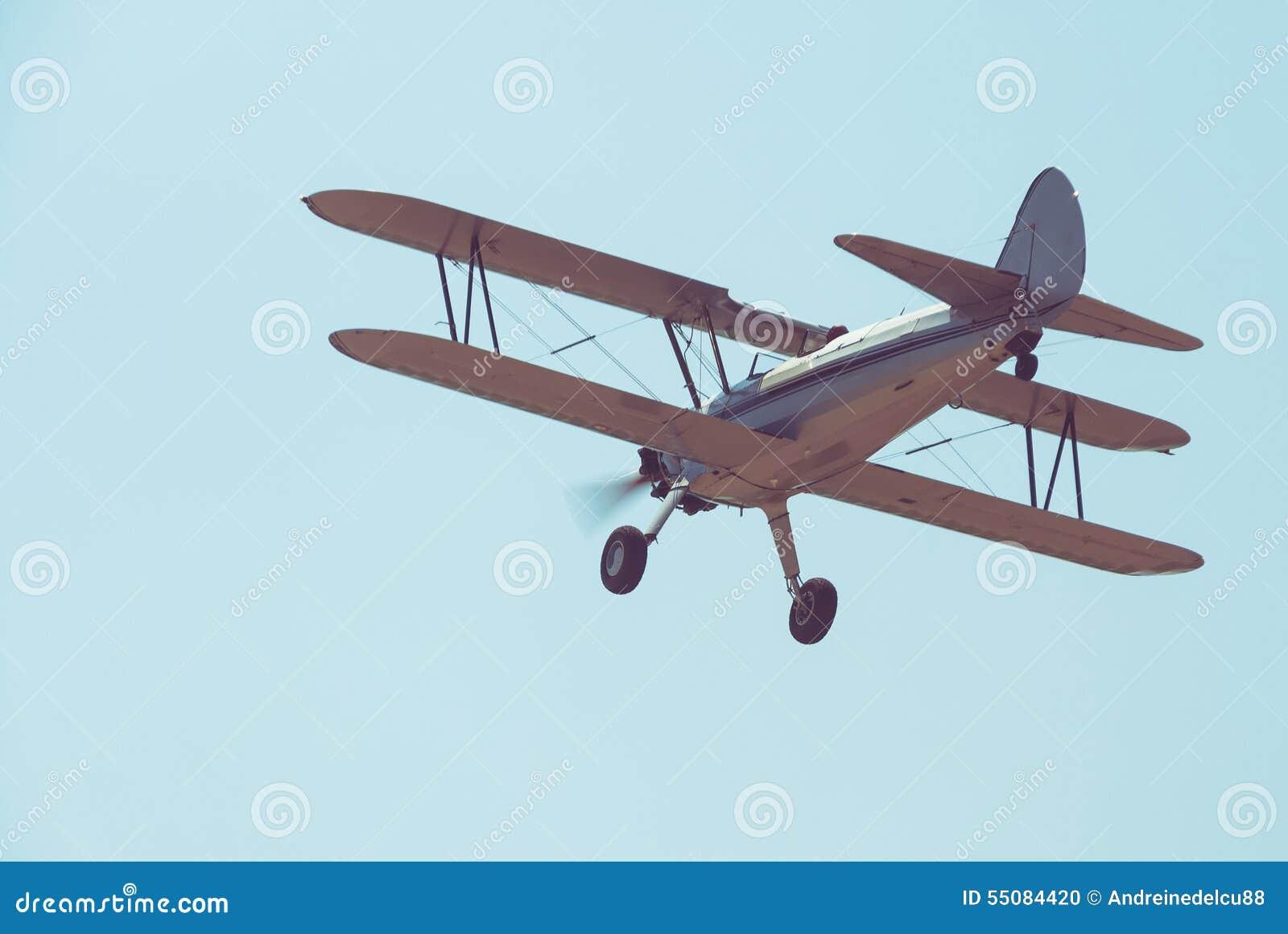 Retro- Flugzeug
