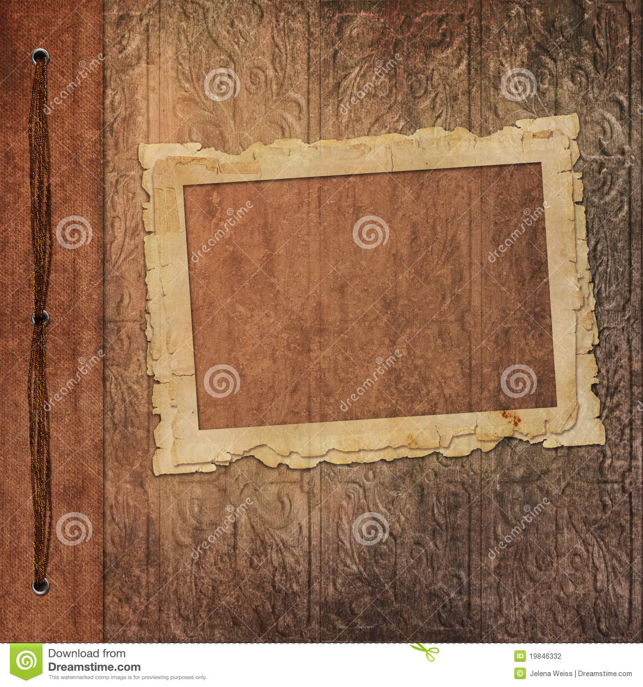 retro frames from old photo album stock photography image 19846332. Black Bedroom Furniture Sets. Home Design Ideas