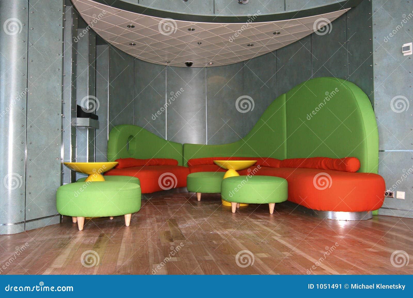 Retro Furniture Stock Image Image 1051491