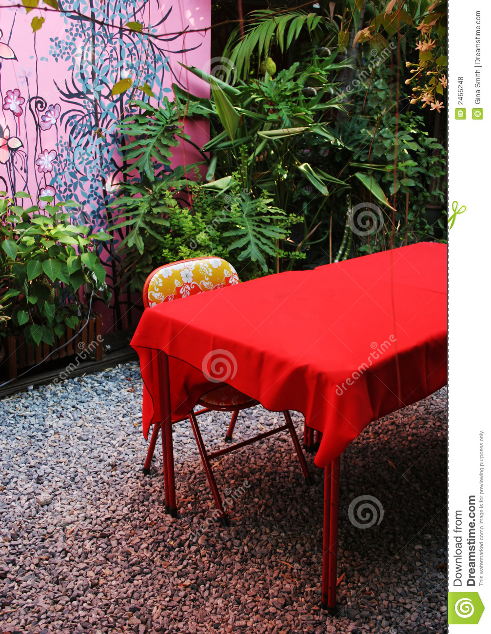 Retro furniture royalty free stock photos image 2466248 for Funky garden furniture designs