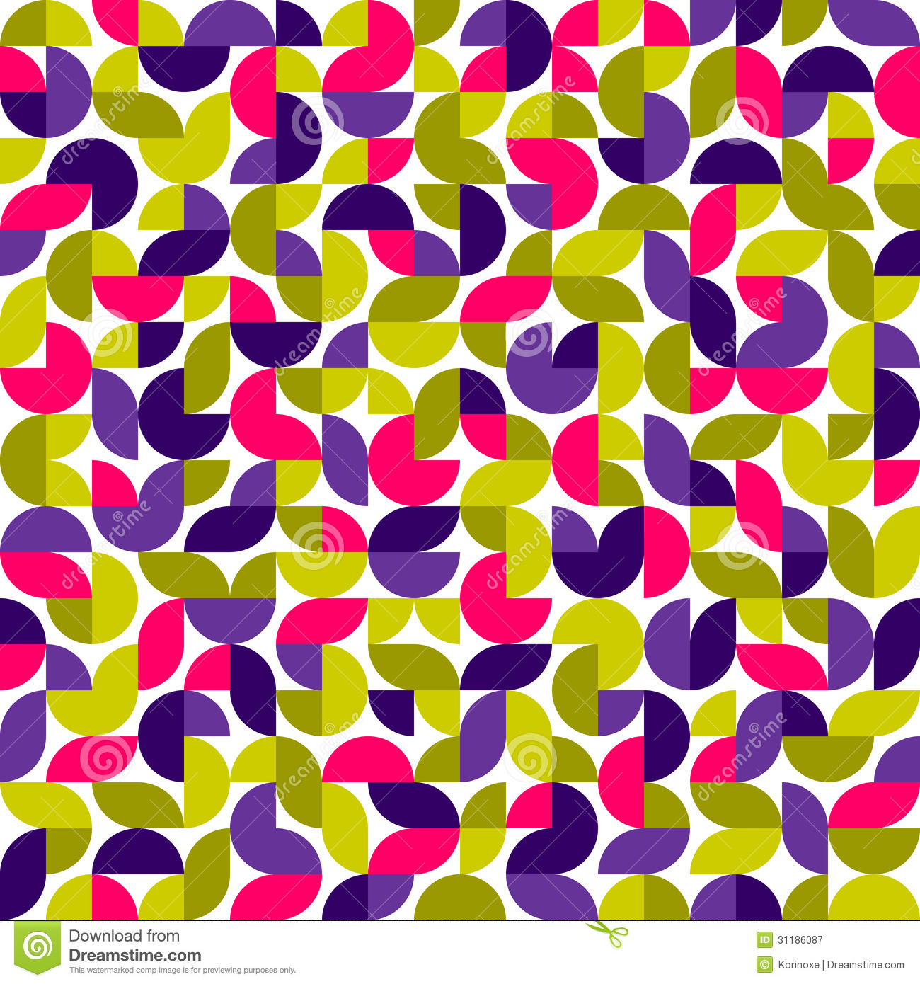 Vector Seamless Pattern Ethnic Style Background Stock ...