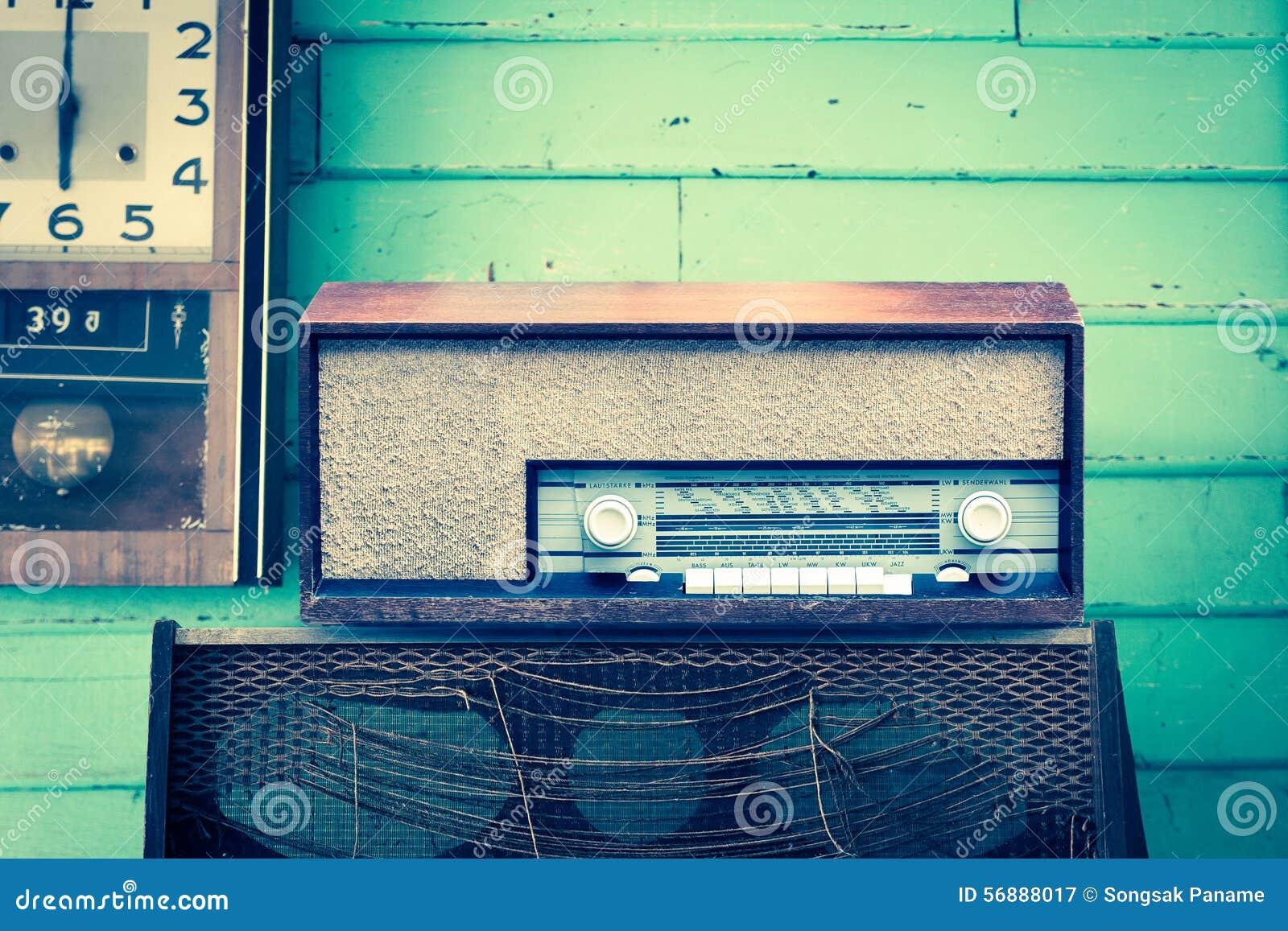 Retro giocatore radiofonico