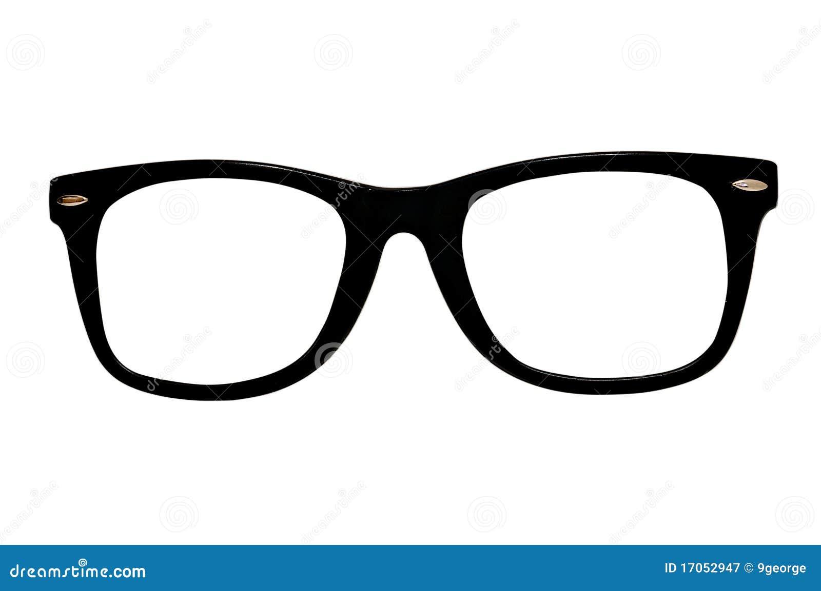 Retro glasses isolated