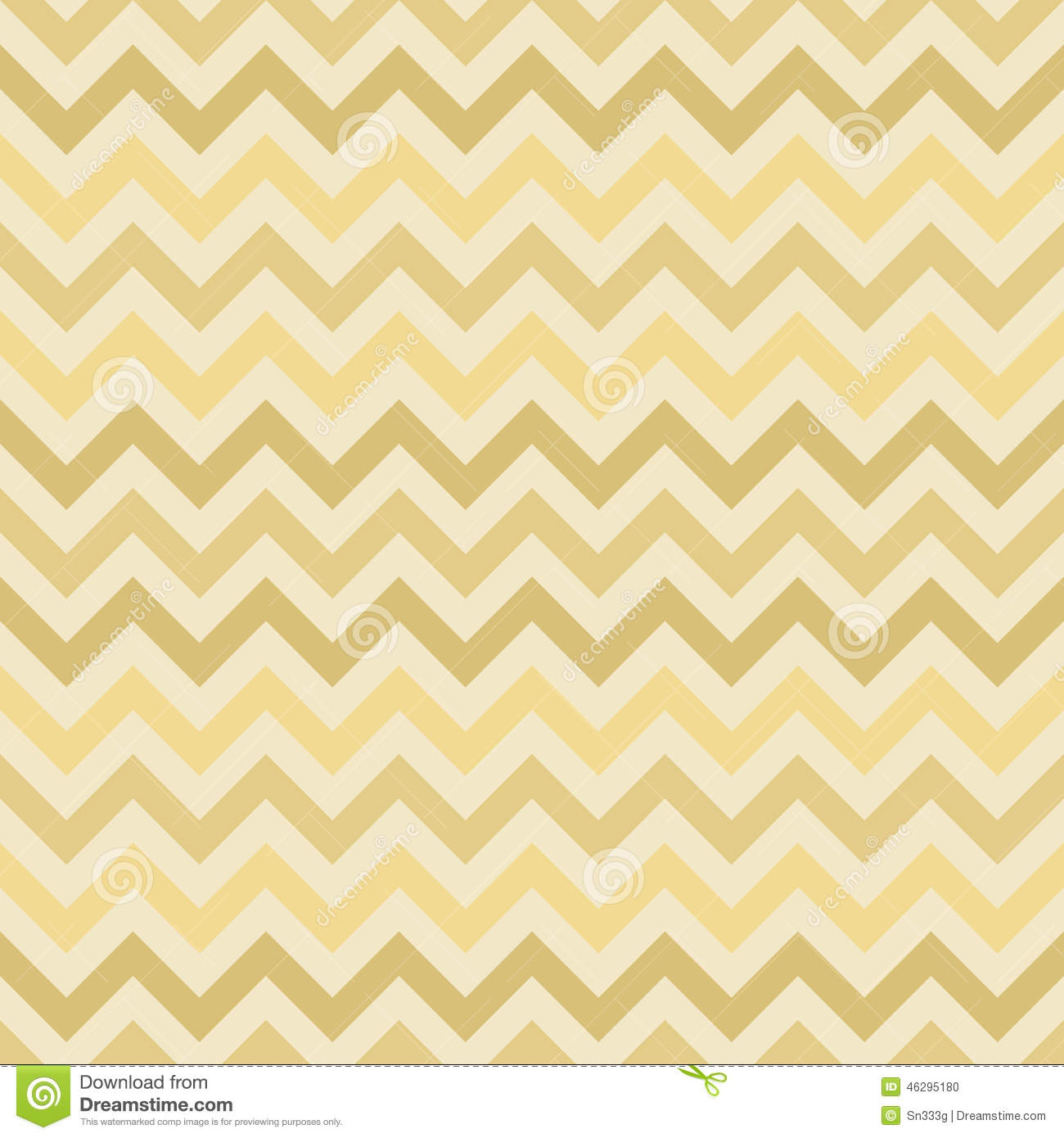 Seamless chevron pattern on linen texture stock photos image - Retro Gold Vector Zigzag Chevron Pattern Stock Vector