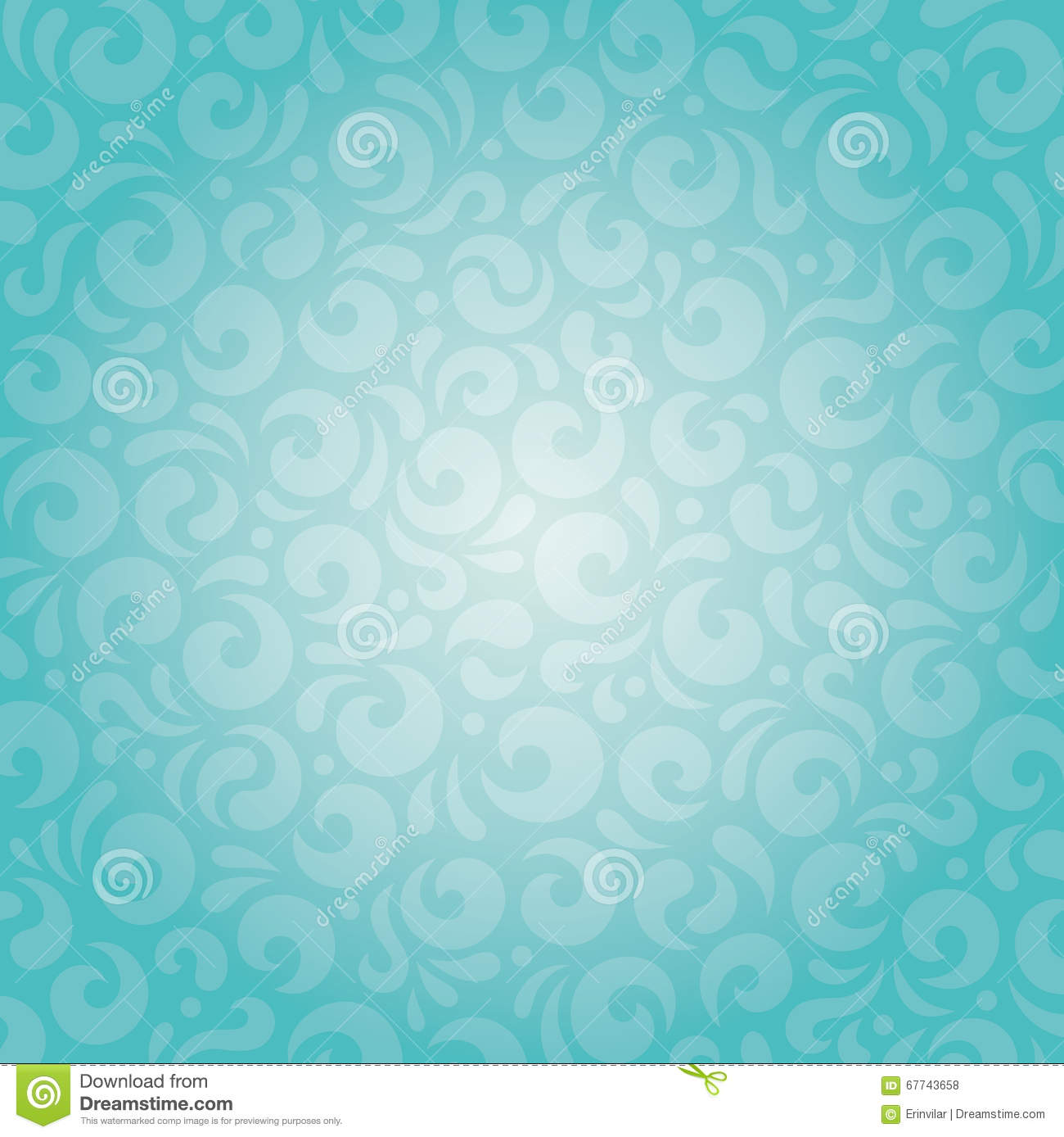Retro Green Blue Holiday Vintage Background Design Stock ...