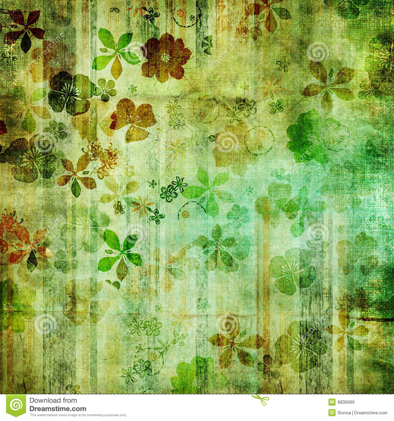 Retro Green Wallpaper ...
