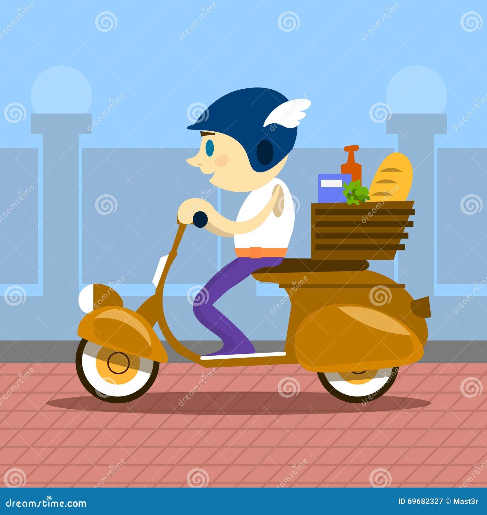 Retro hemsändning för sparkcykel för manrittmotorcykel