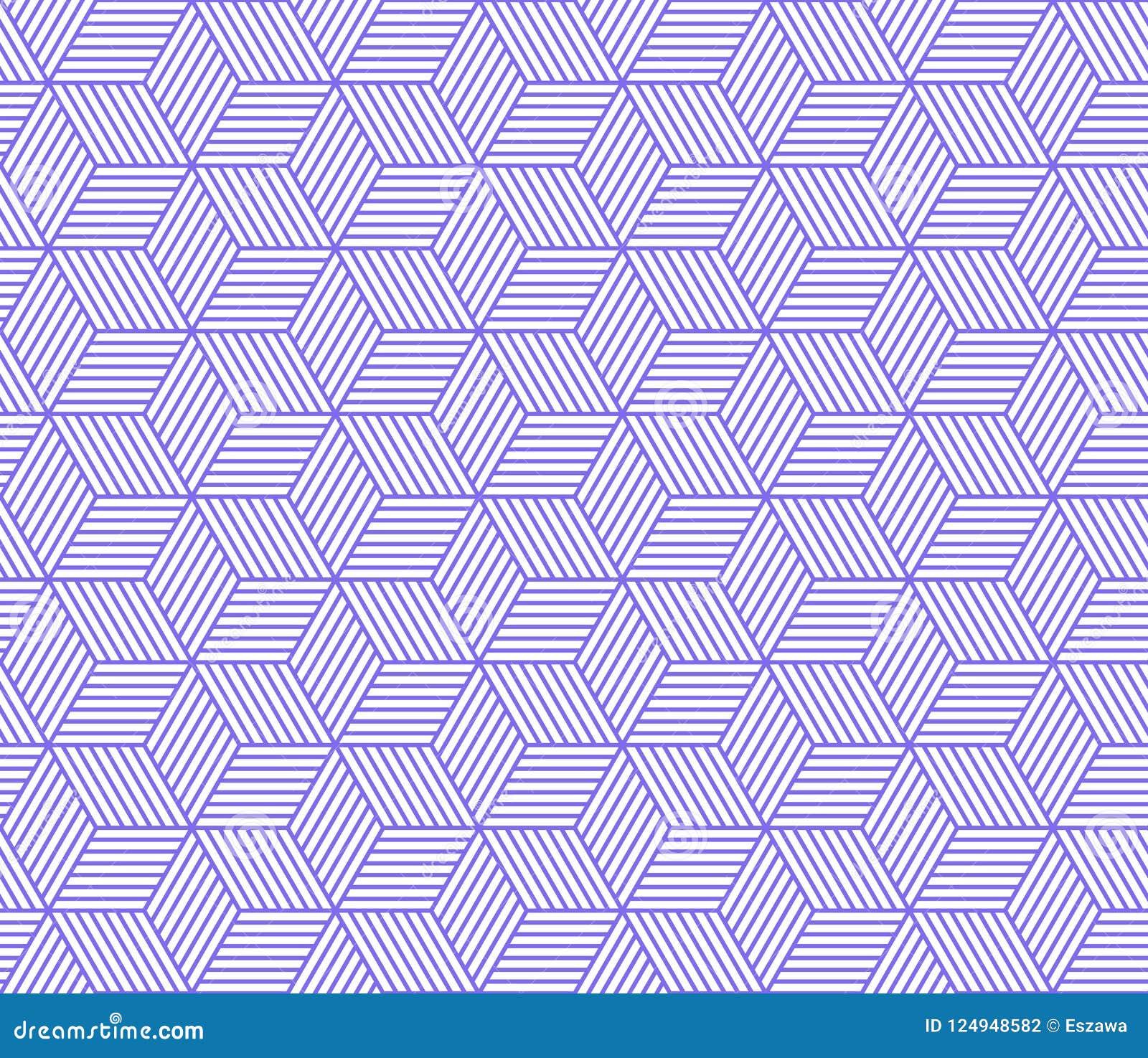 Retro herhaald behang - Uitstekend vectorpatroon