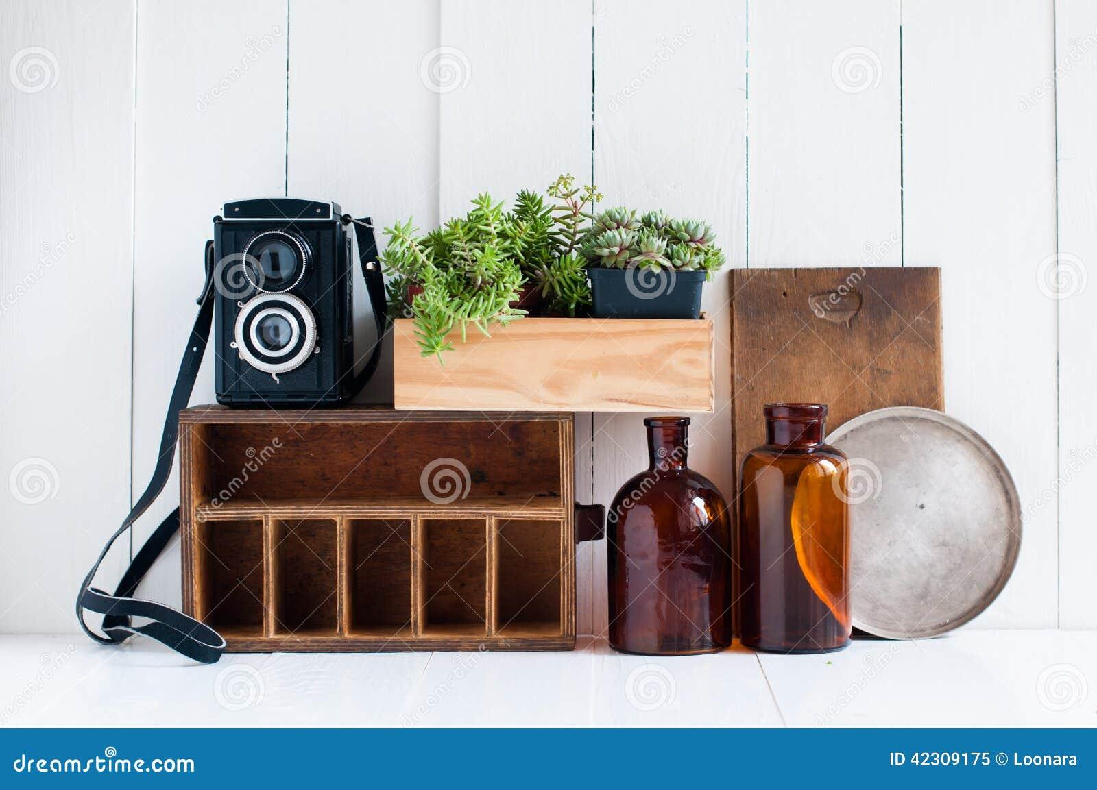 Retro home decor stock photo image 42309175 for Retro home decorations