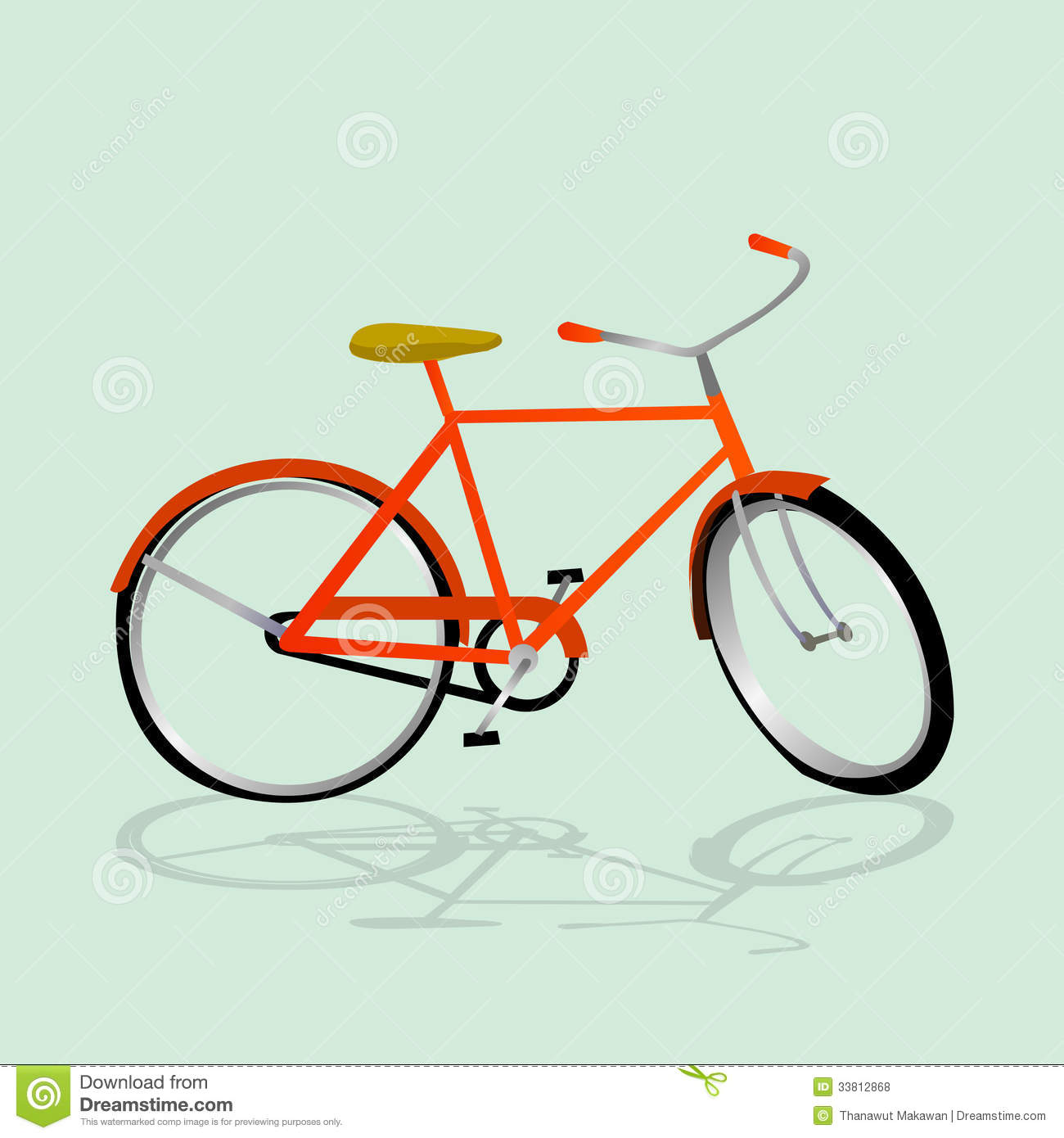 Simple bicycle illustration - photo#3