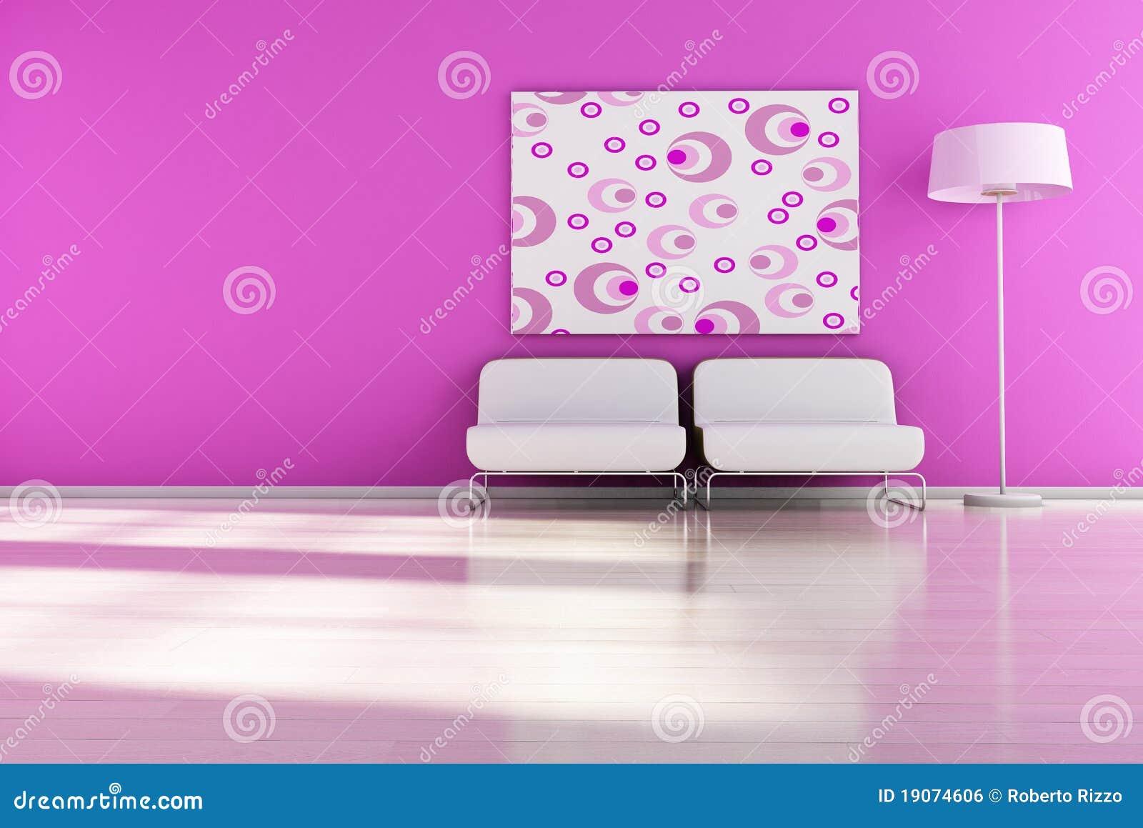 Retro interior stock illustration illustration of for 1950s minimalist house