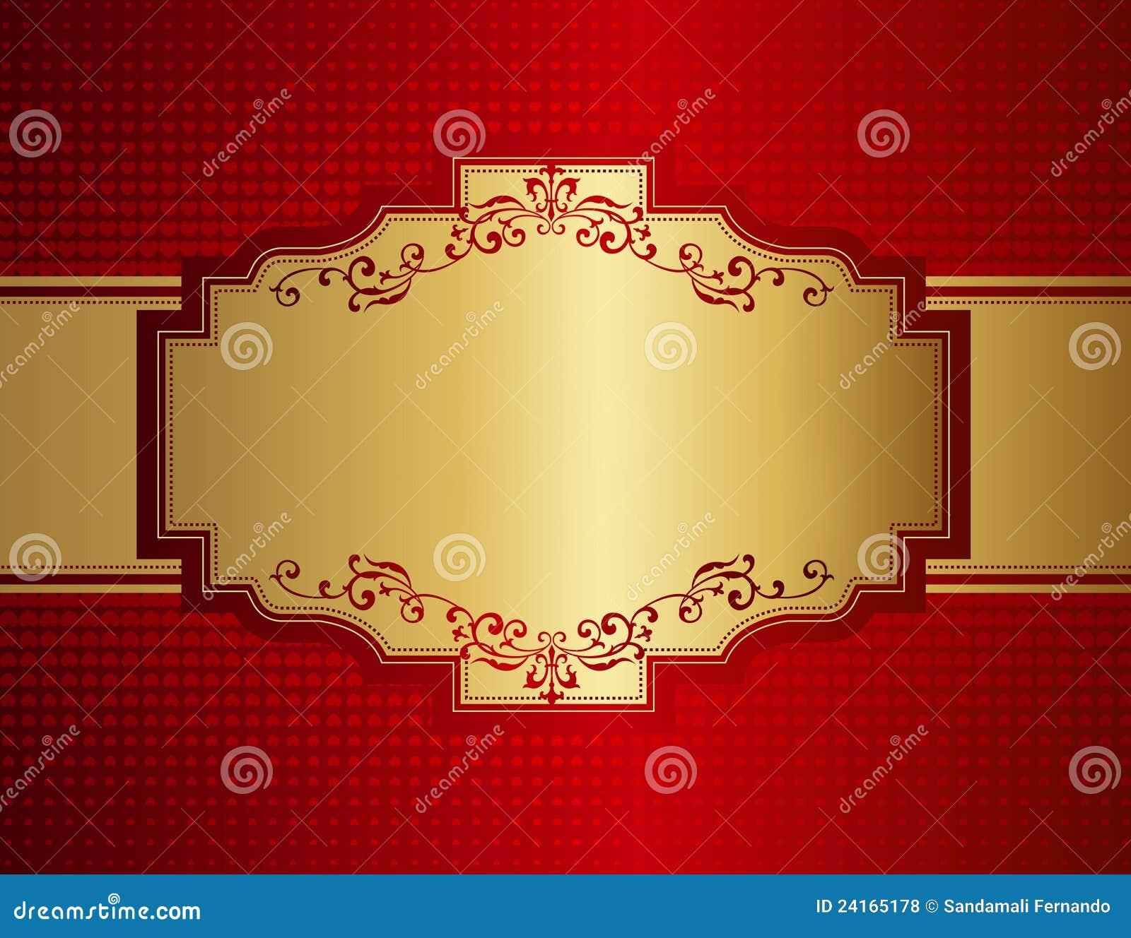 retro invitation background stock vector