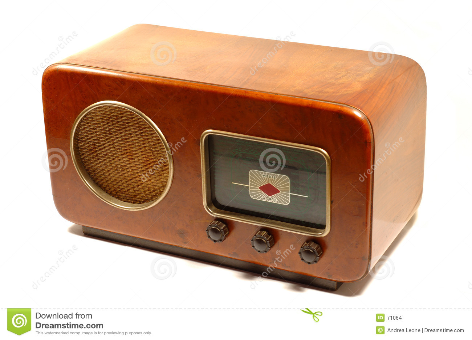 Retro italiensk radio