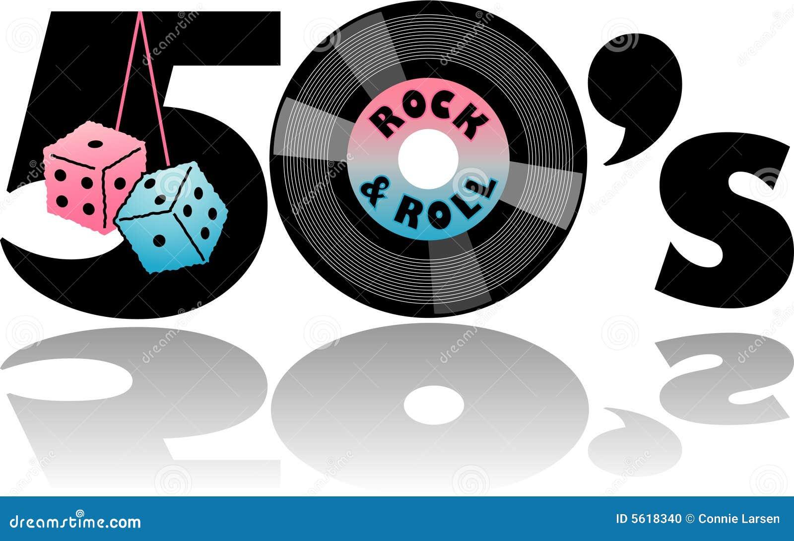 Retro Jaren  50 & Verward dobbelen/eps