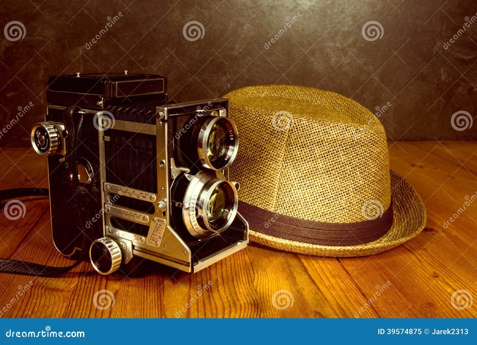 Retro kamera för tappning