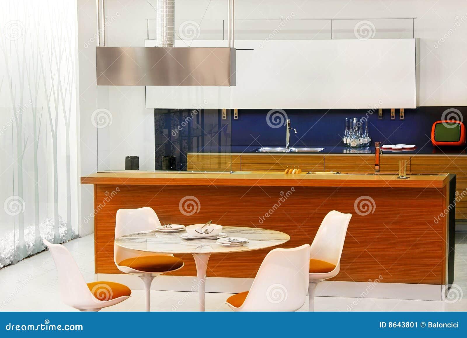 Retro keuken stock afbeelding afbeelding 8643801 - Keuken met teller ...