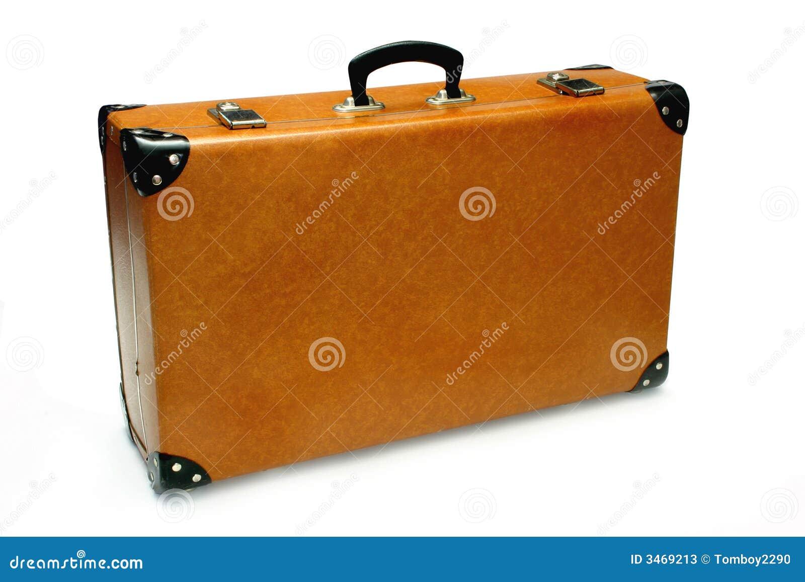 Fonkelnieuw Retro- Koffer stockbild. Bild von carry, koffer, satz - 3469213 MN-08