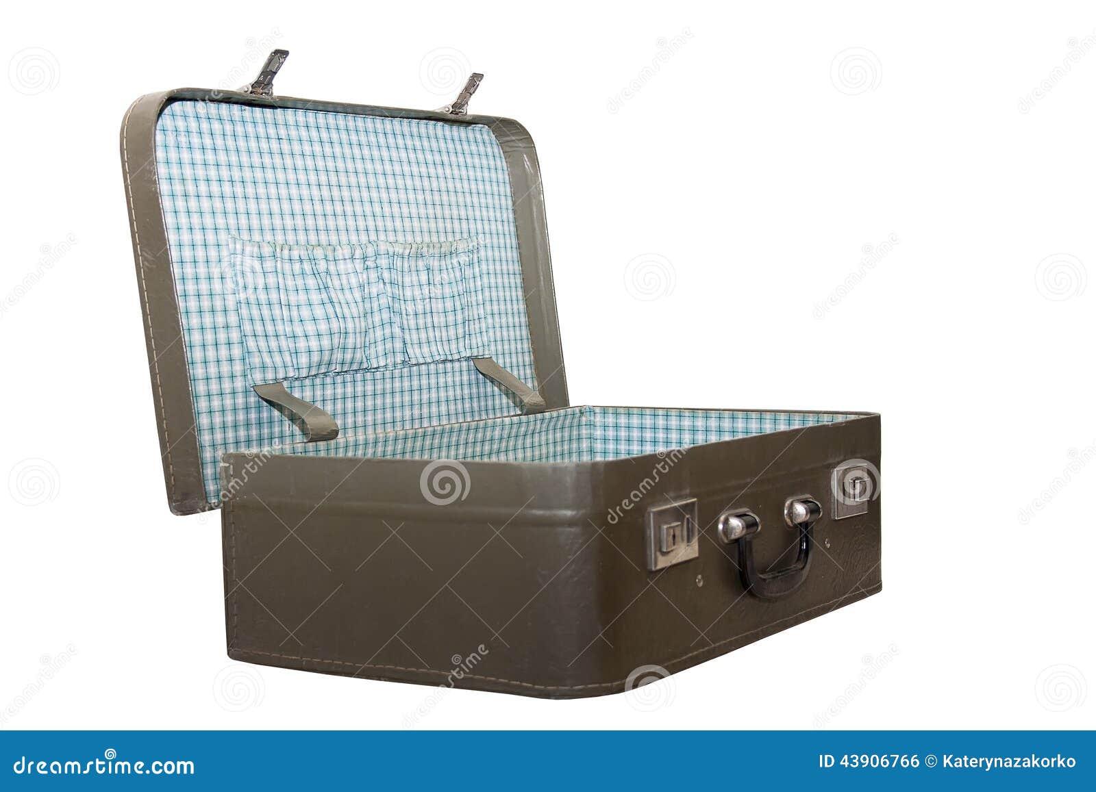 retro koffer stock foto afbeelding bestaande uit reis 43906766. Black Bedroom Furniture Sets. Home Design Ideas