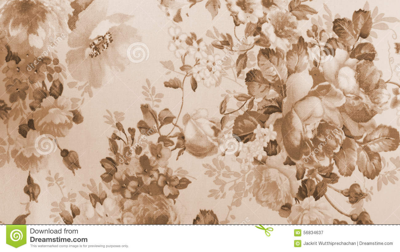 vintage floral brown css html retro lace floral seamless pattern monotone sepia brown