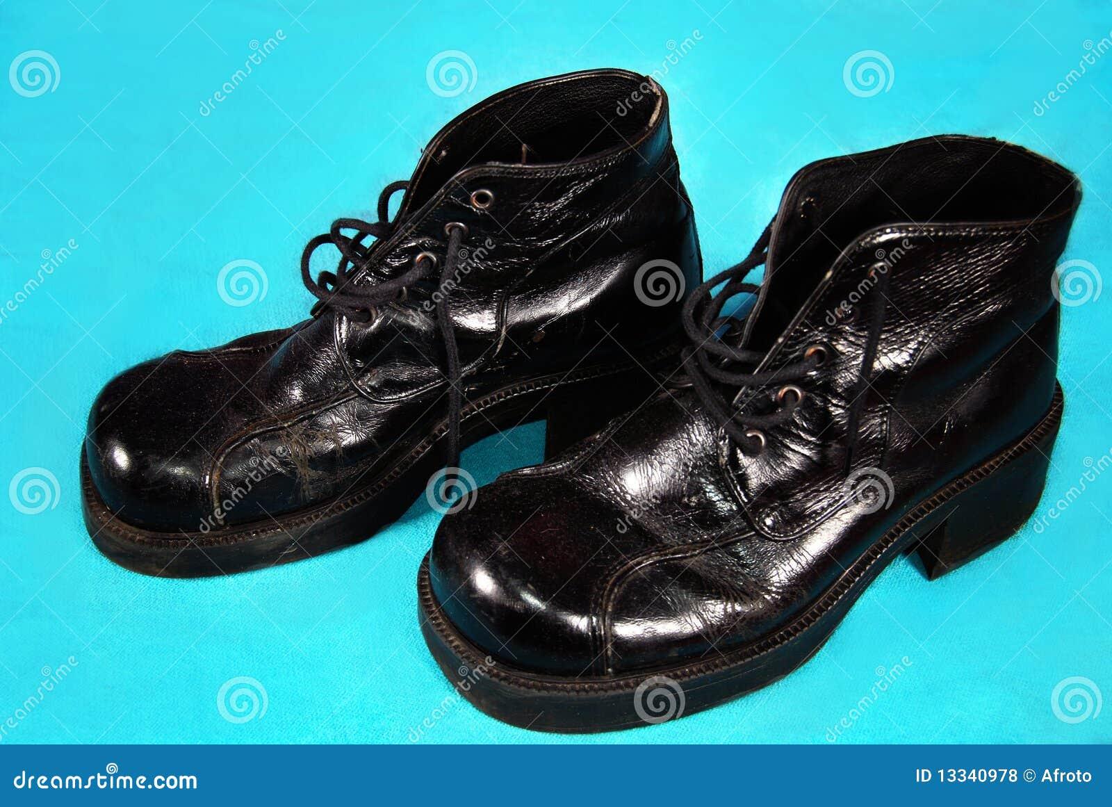 Retro mężczyzna buty s