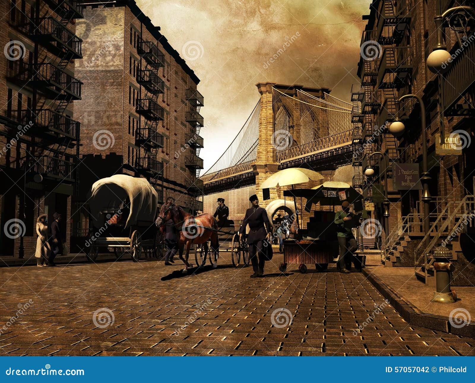 Retro Manhattan