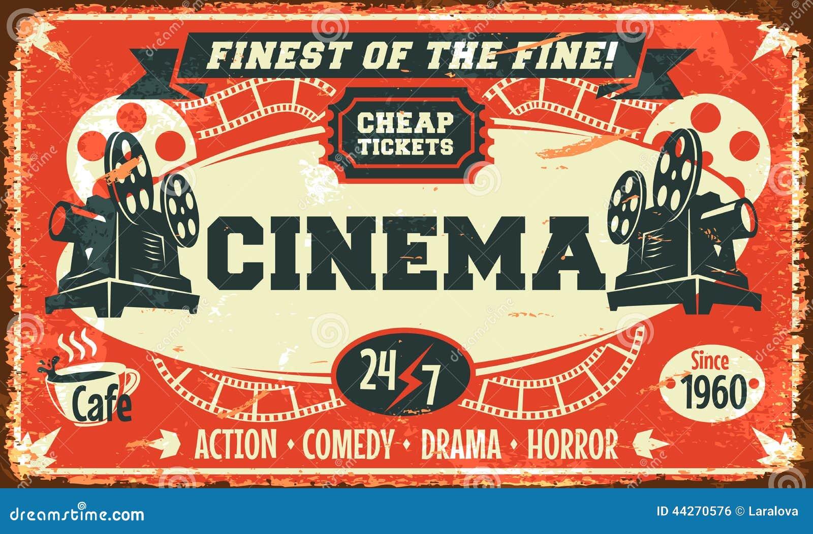 Retro manifesto del cinema di lerciume