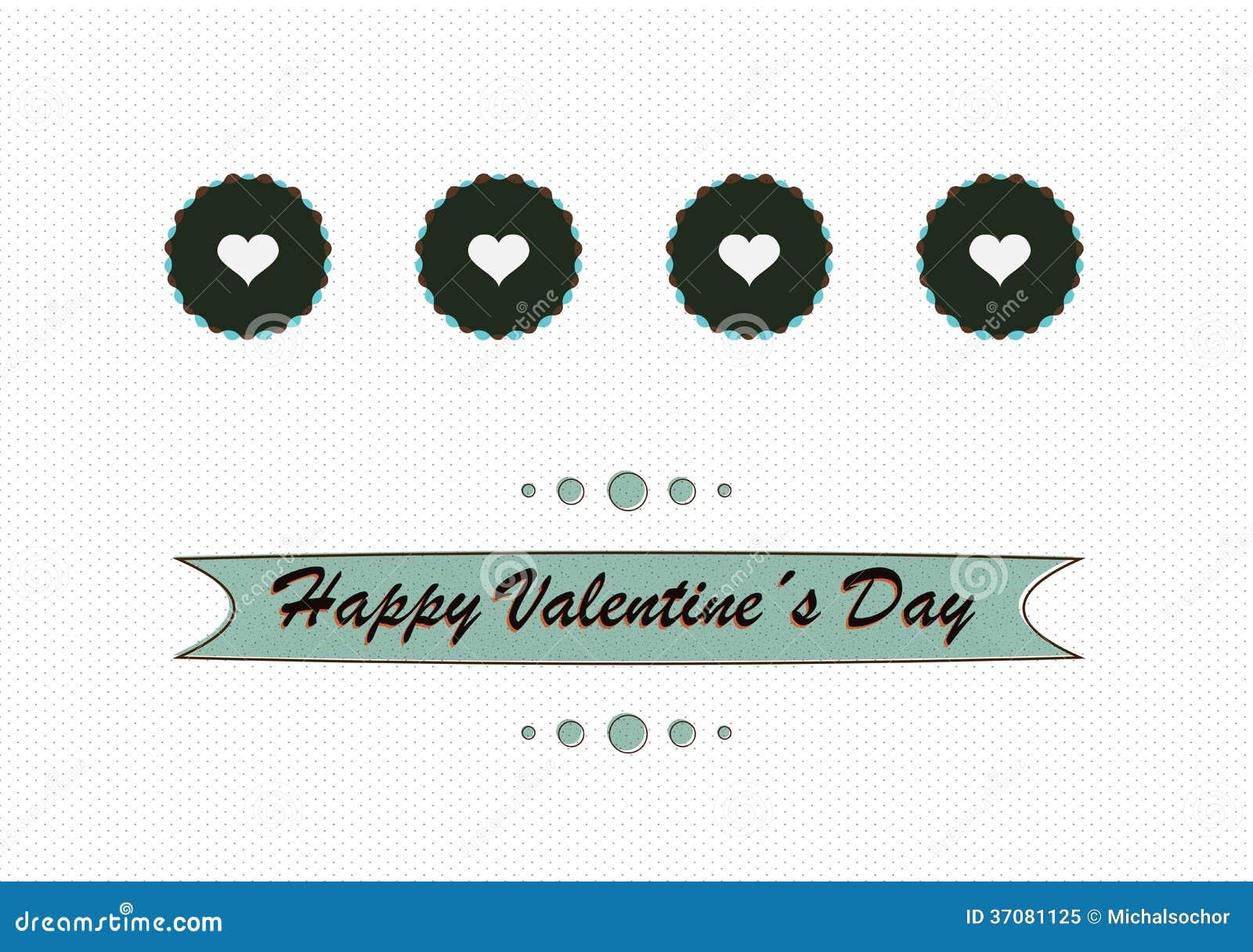 Download Retro Miłości Pojęcia Valentines Dnia Projekt Ilustracji - Ilustracja złożonej z handwritten, klasyk: 37081125