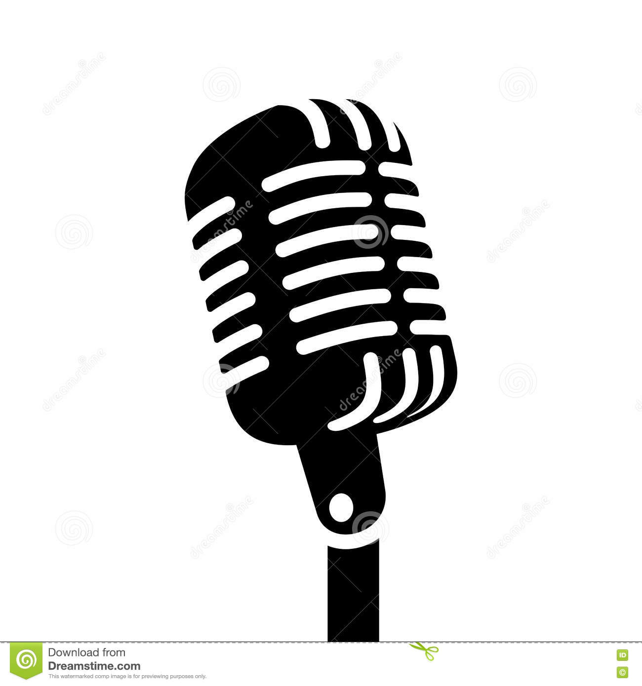 Microphone Vector Stock Illustrations 84 030 Microphone Vector Stock Illustrations Vectors Clipart Dreamstime