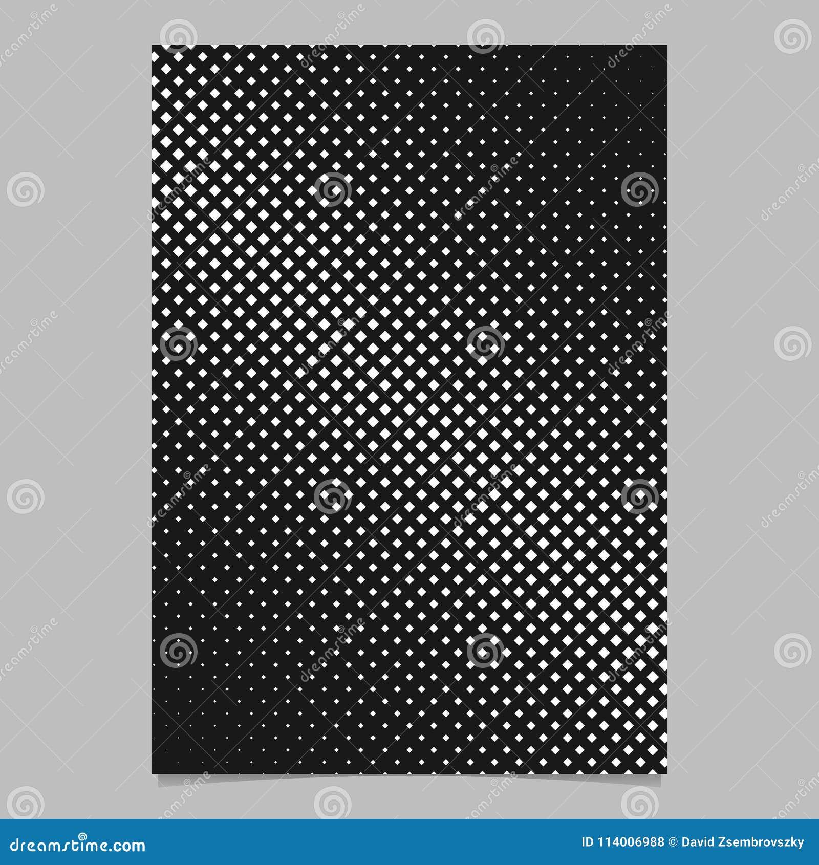 retro halftone diagonal square pattern background brochure design