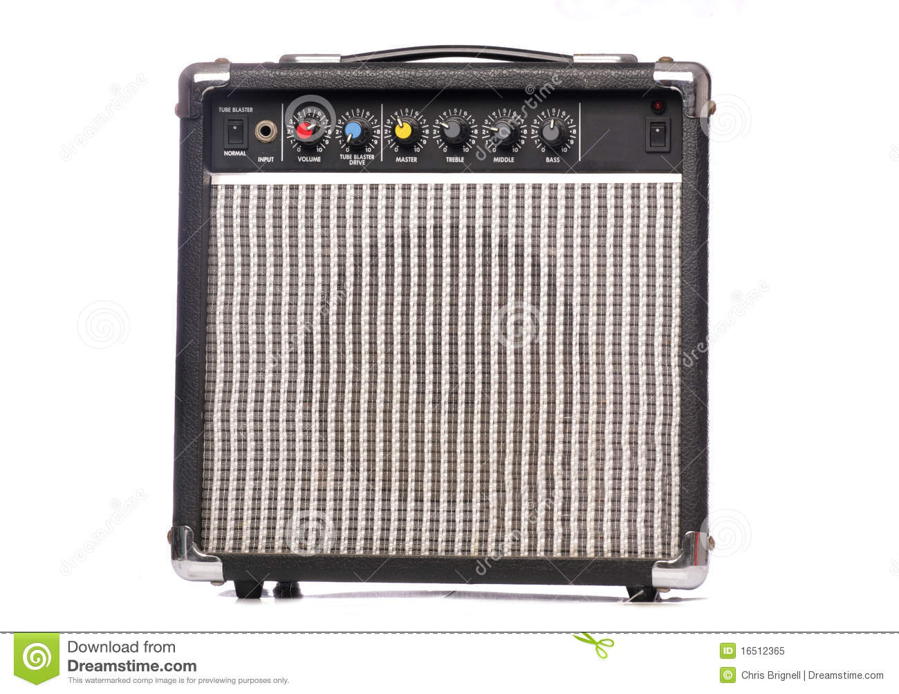 Retro Music Amplifier Royalty Free Stock Photo - Image ...