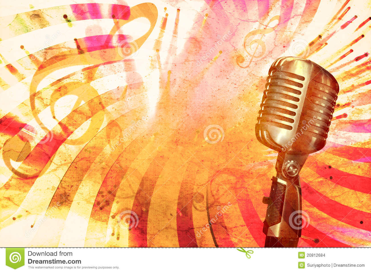 Retro music background stock images image 20812684 for Retro images