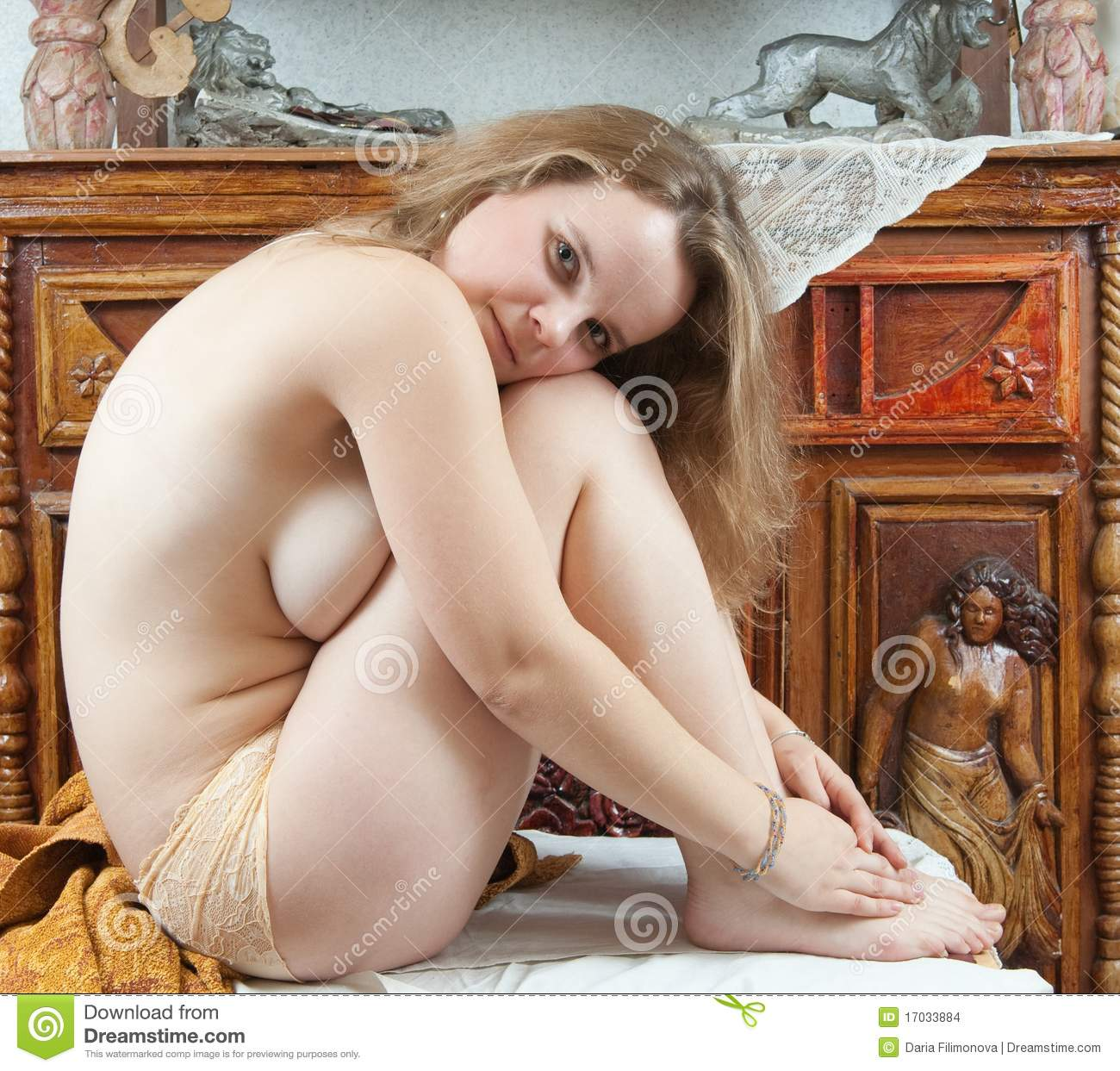 Retro Naked Women Stock Photo Image Of Decoration -1225