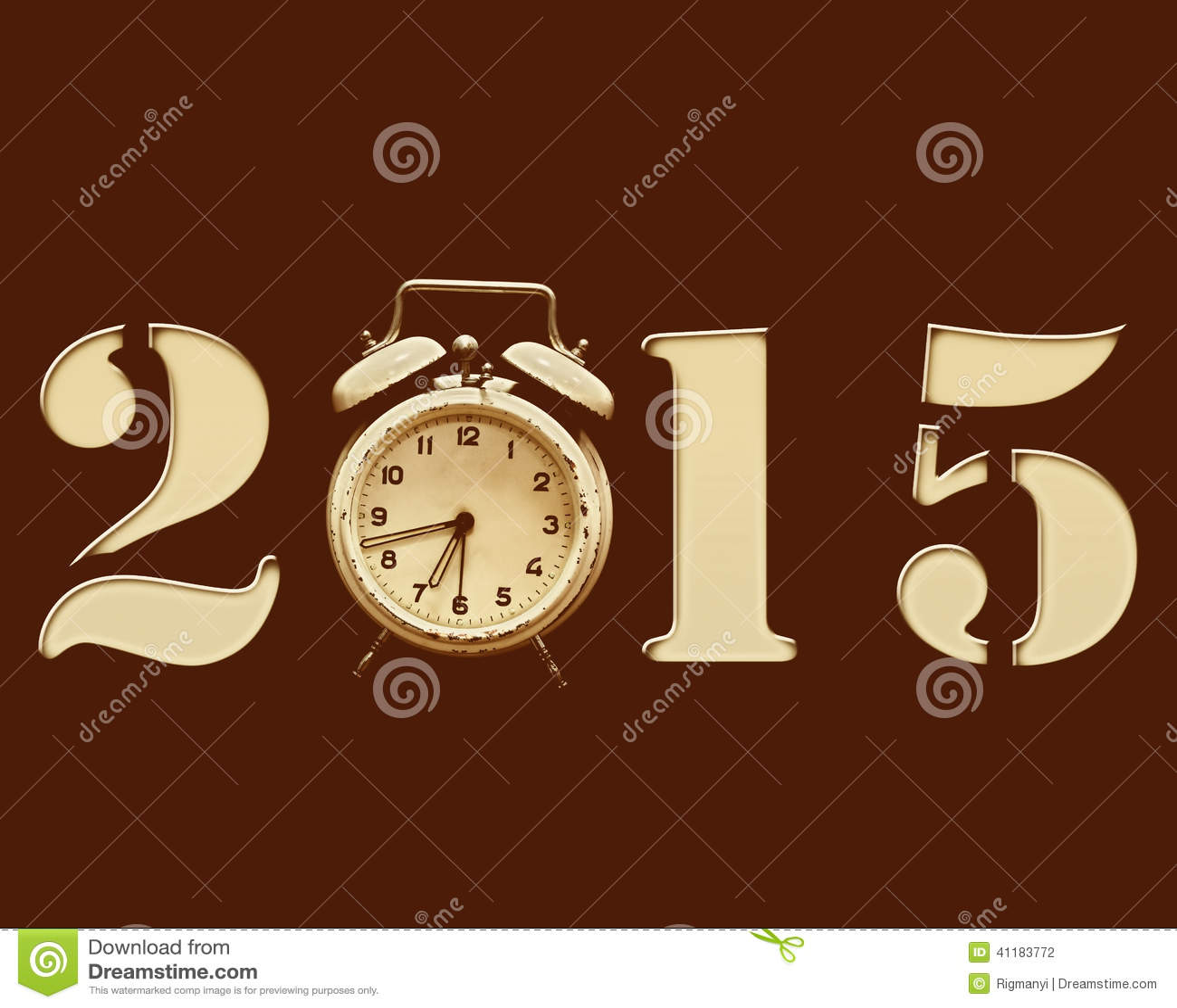 Retro nytt år 2015