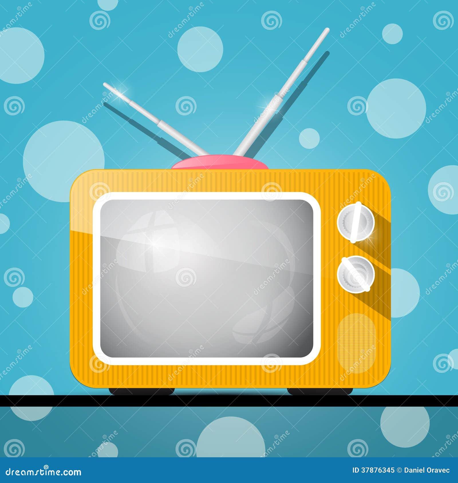 Retro Oranje Televisie, TV-Illustratie