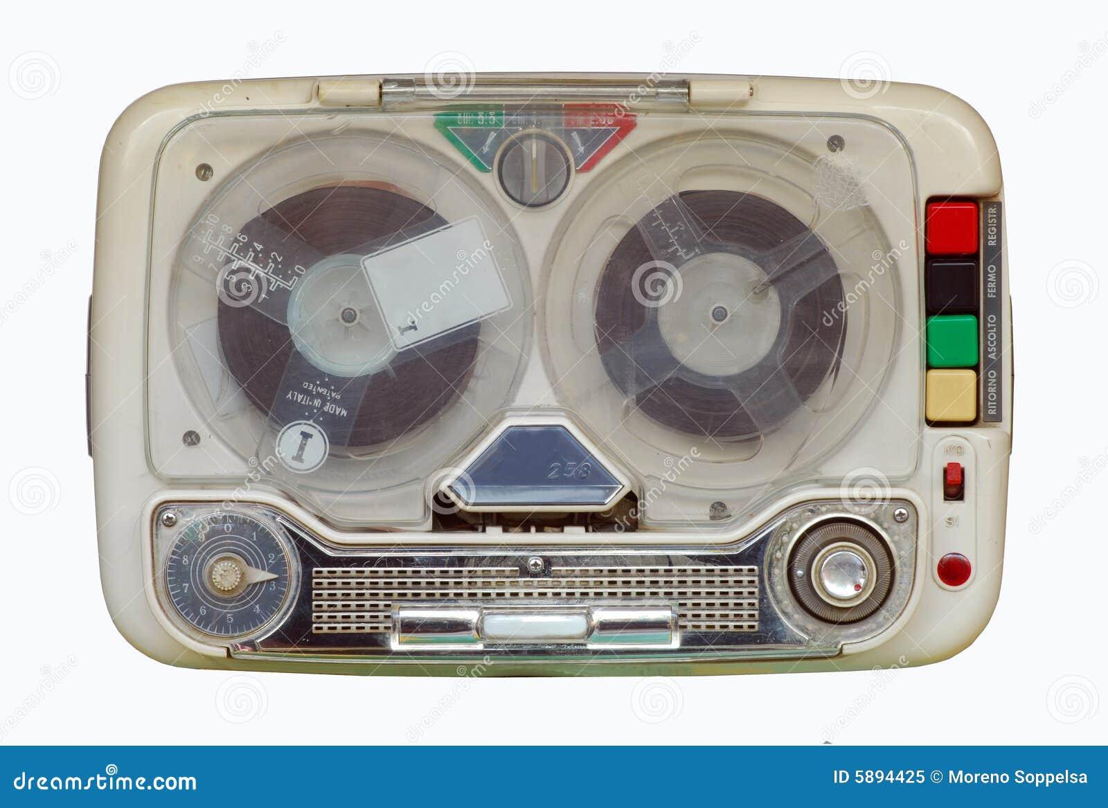 Retro, oud band-registreertoestel