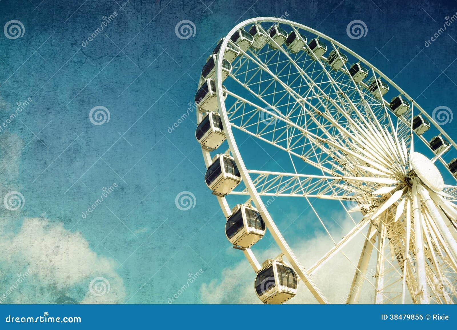 Retro pariserhjul