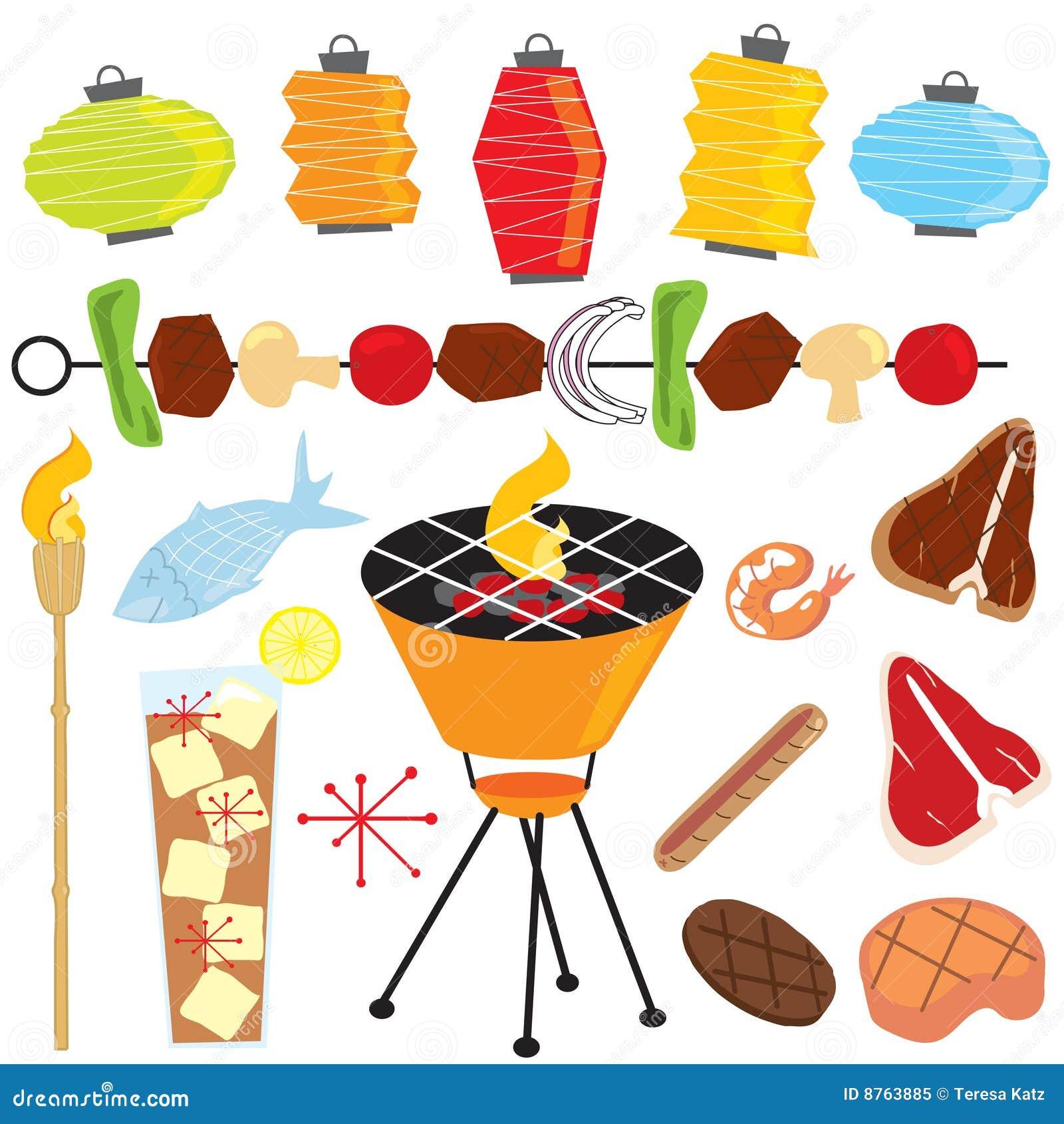 Retro Partij van de Barbecue
