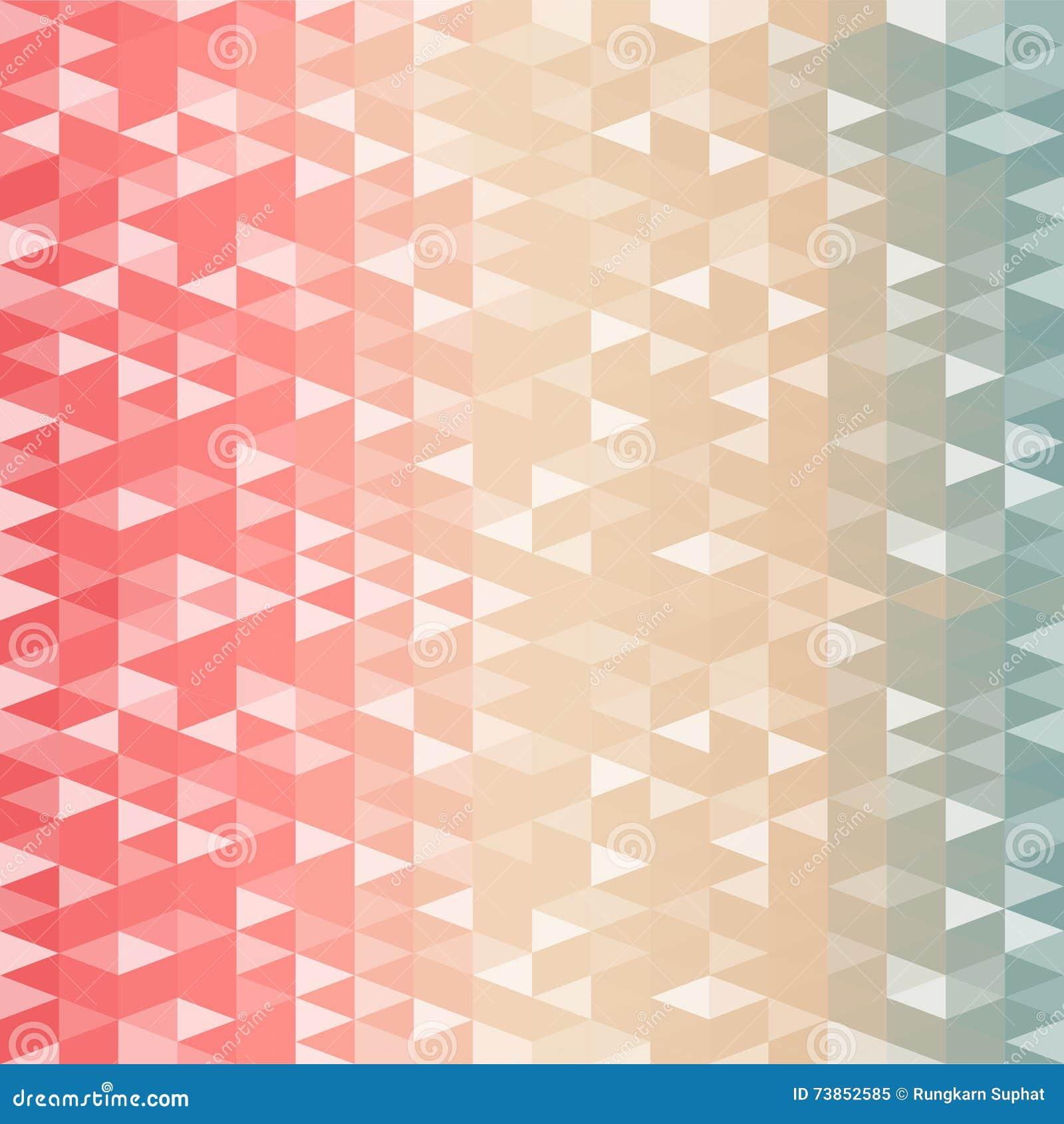 Retro patroon van geometrische vormen