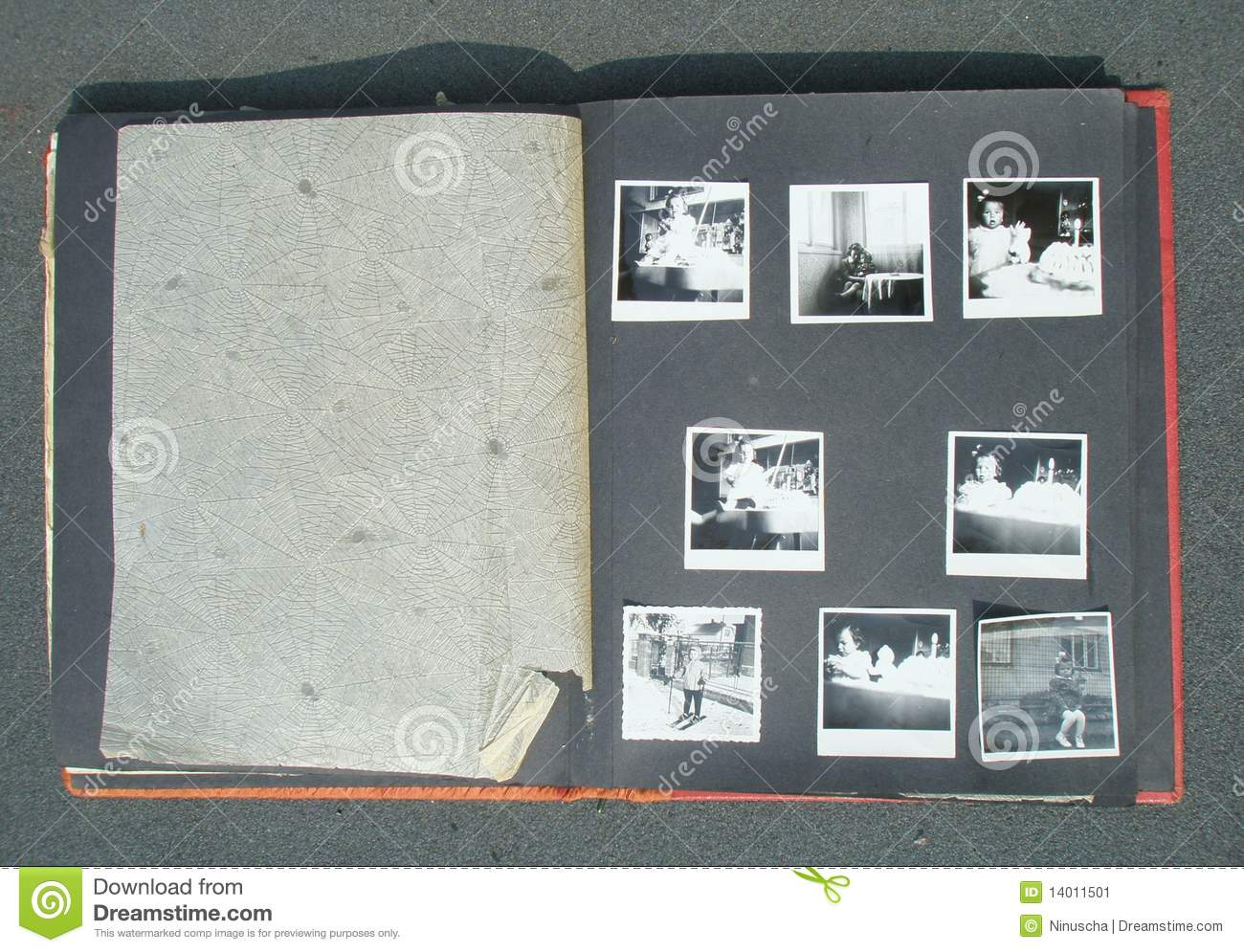 Bien connu Retro Photo Album Stock Image - Image: 14011501 PX73