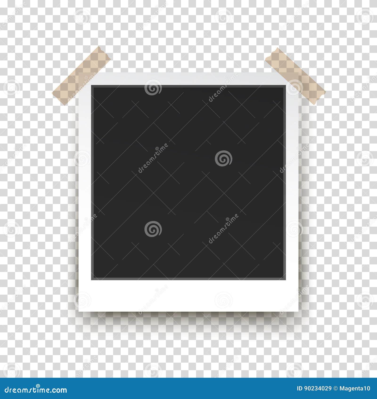 how to make a polaroid frame photo