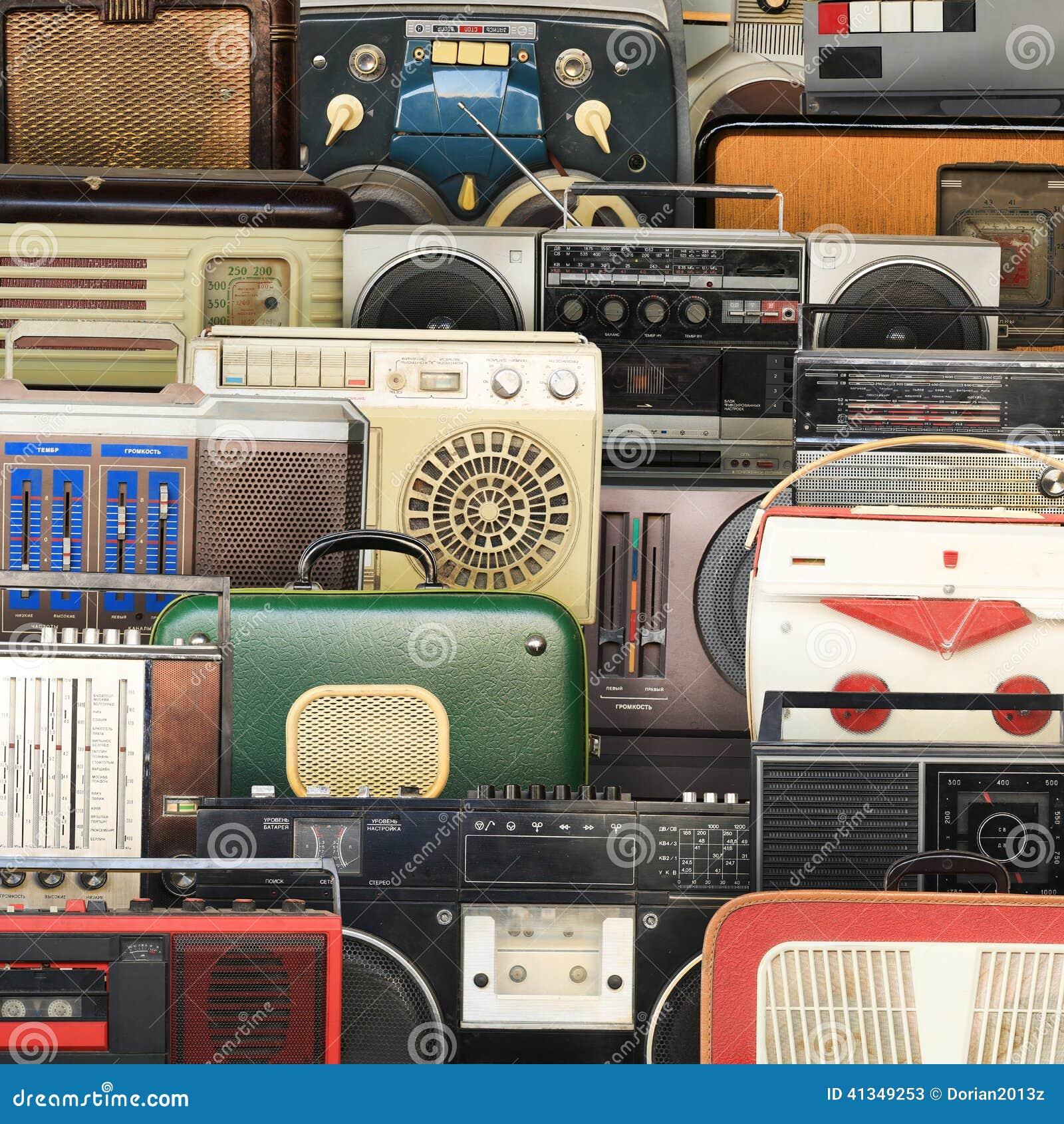 Retro pisak, audio system
